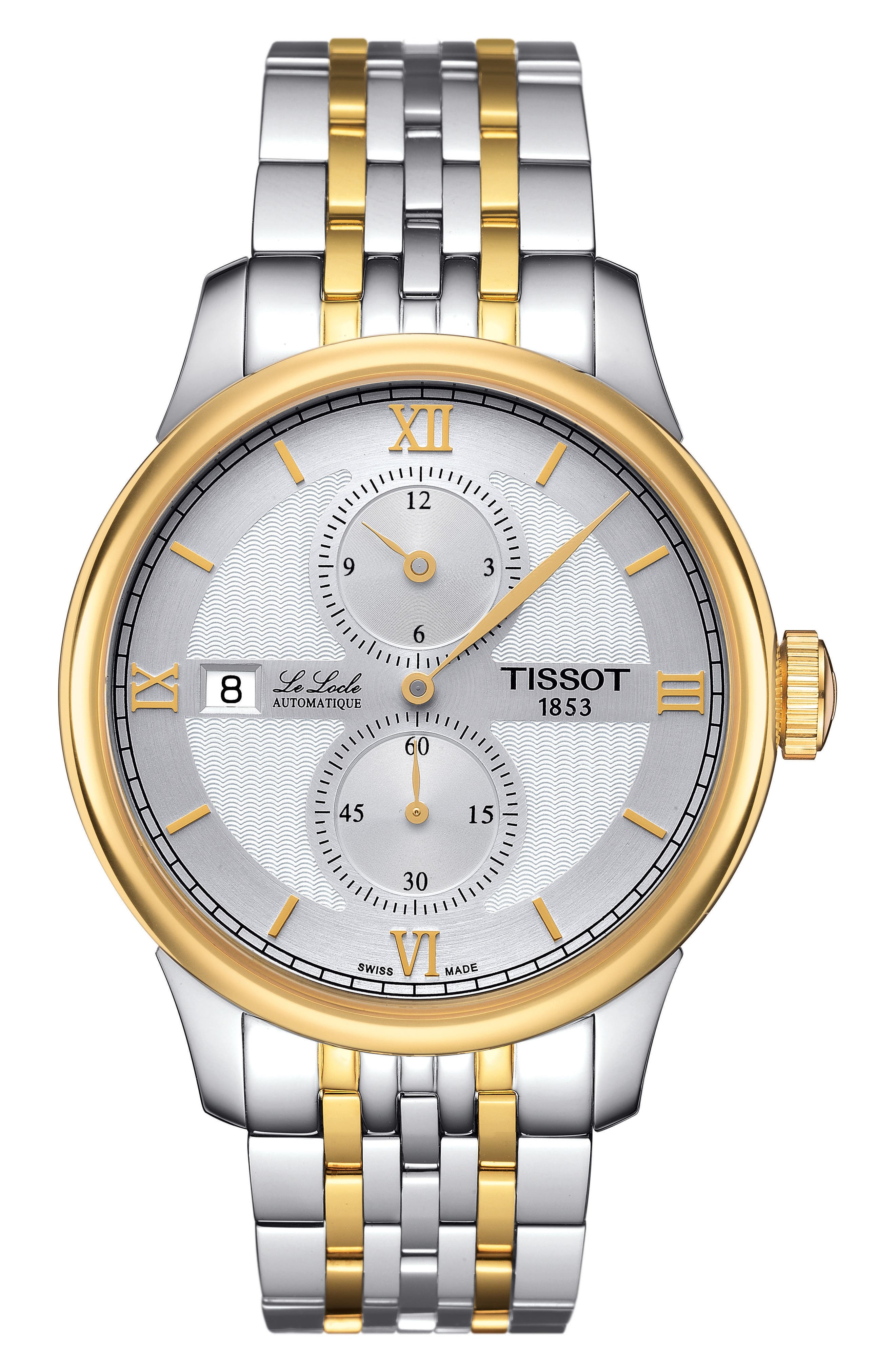 Alternate Image 1 Selected - Tissot Le Locle Automatic Bracelet Watch, 39mm