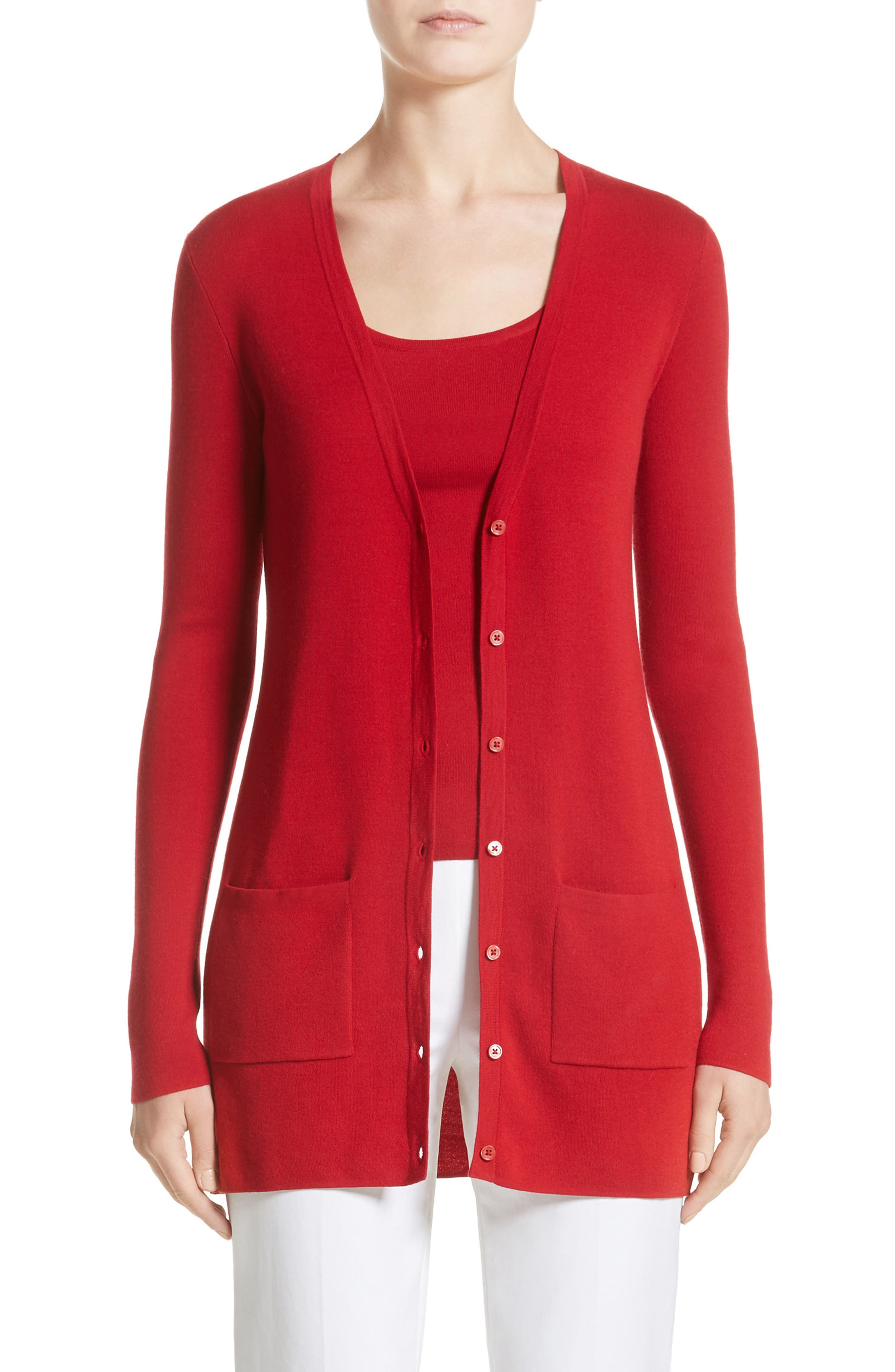 Michael Kors Super Cashmere Long Cardigan