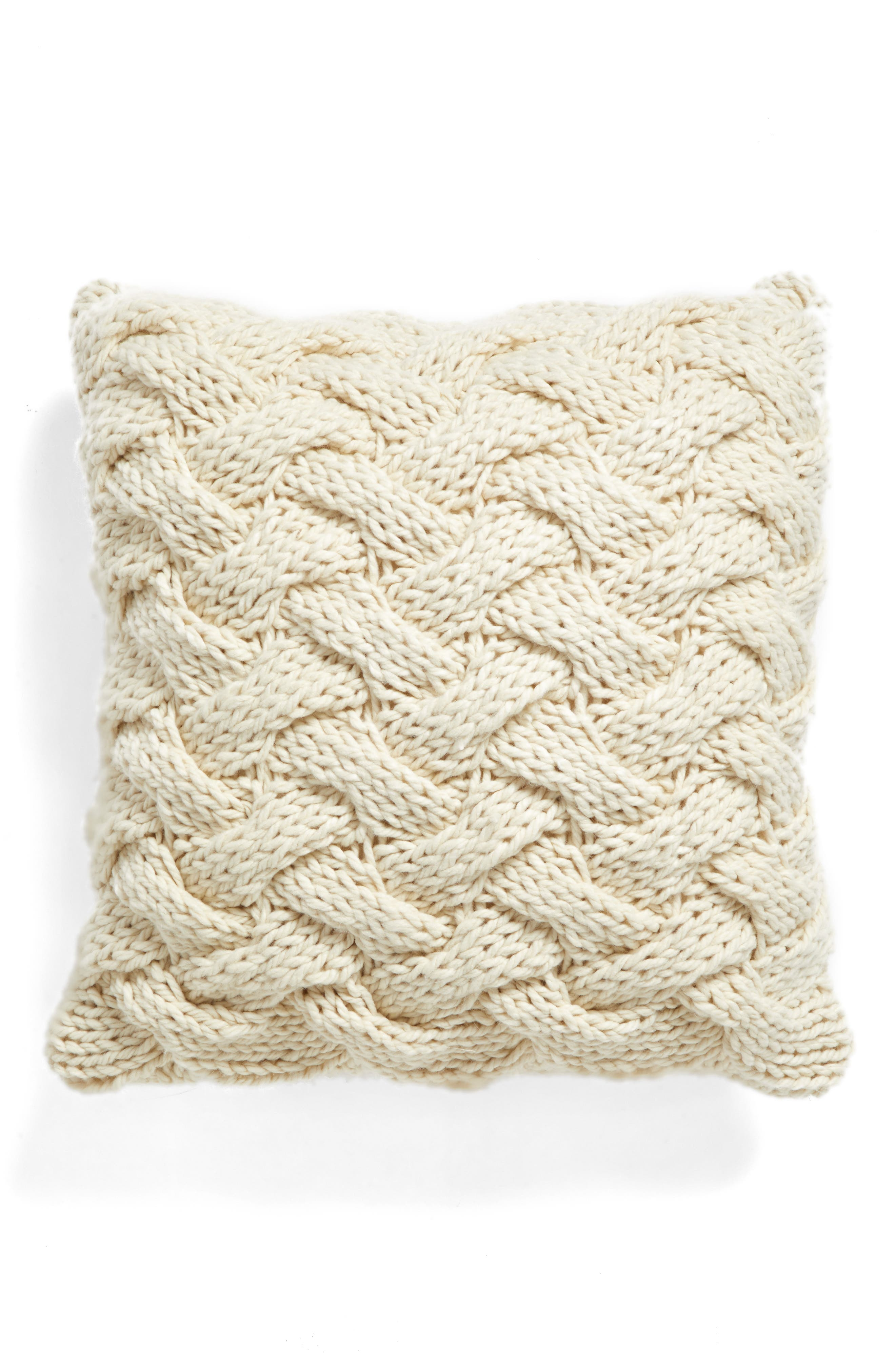Nordstrom at Home Basket Weave Accent Pillow