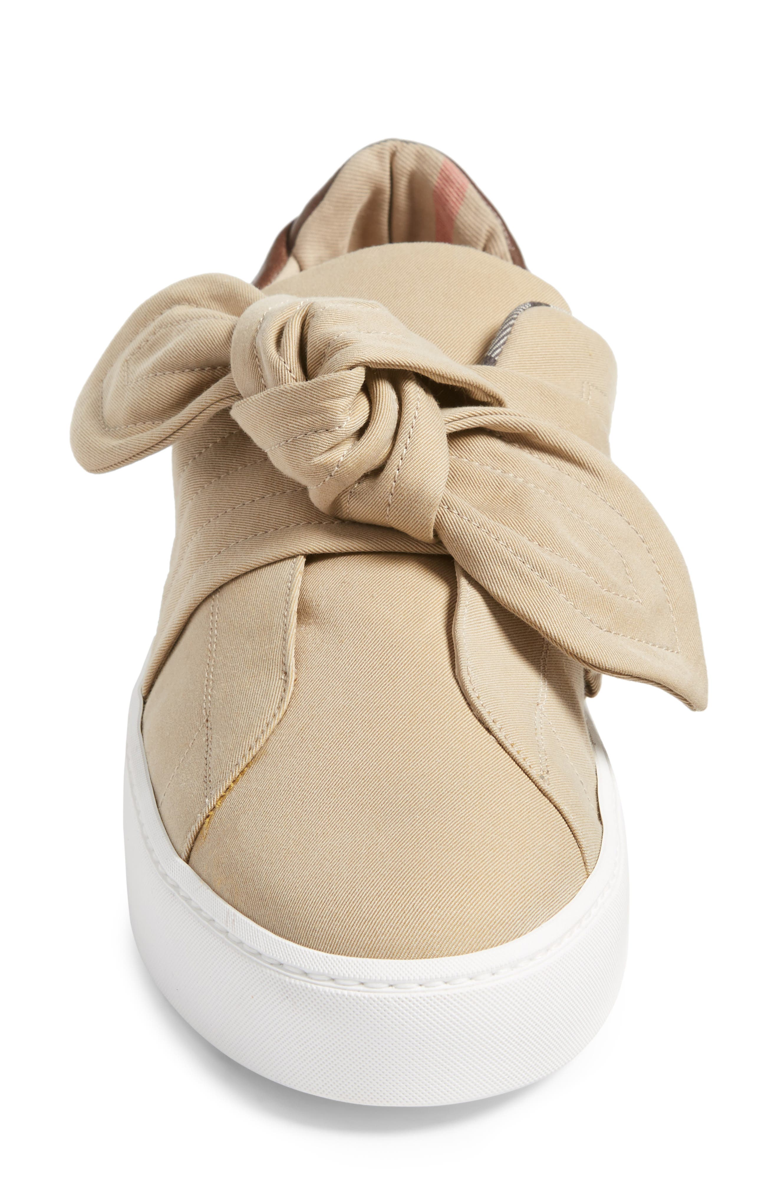 Alternate Image 4  - Burberry Knot Sneaker (Women)
