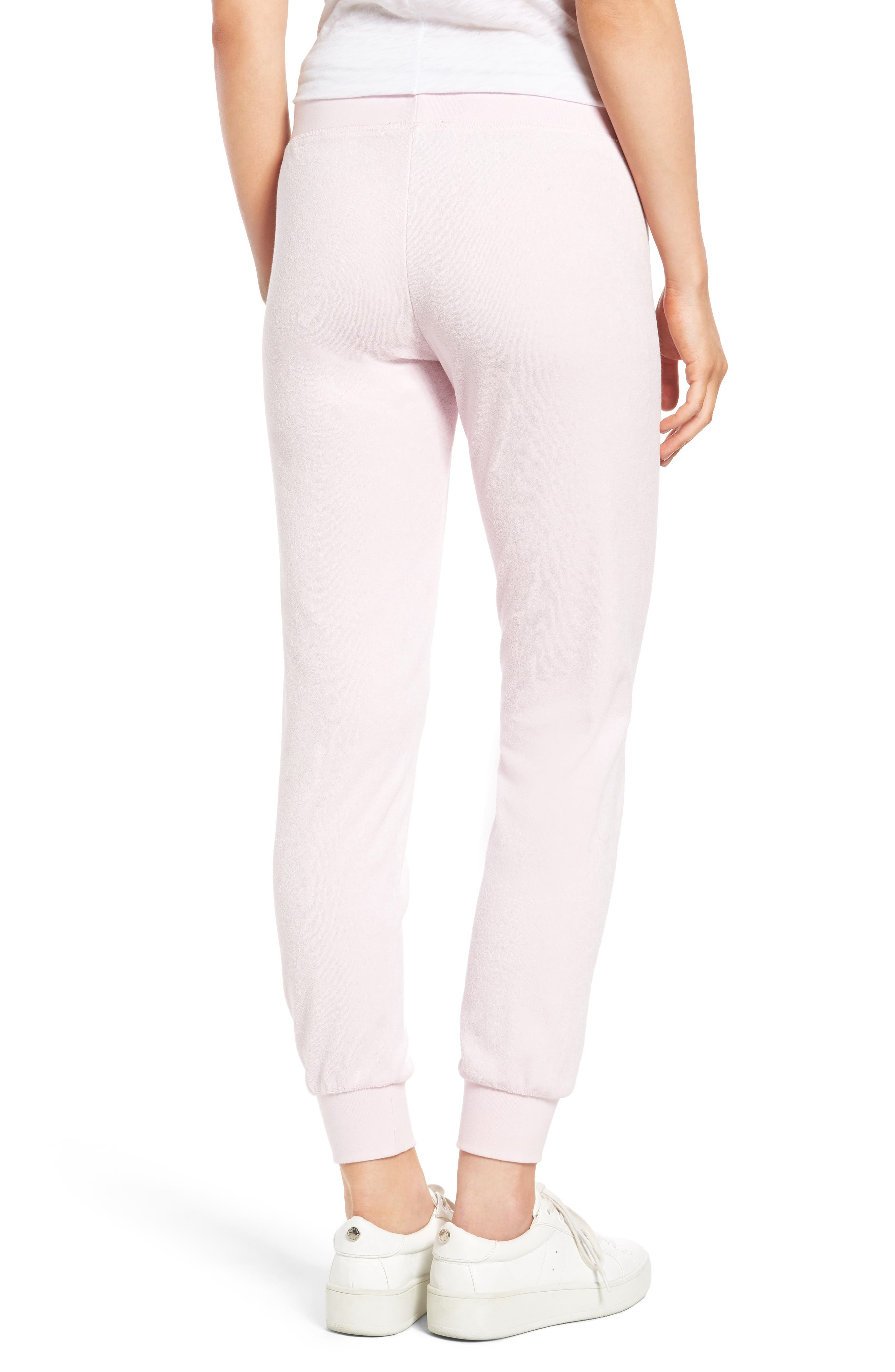 Alternate Image 2  - Juicy Couture Zuma Microterry Track Pants