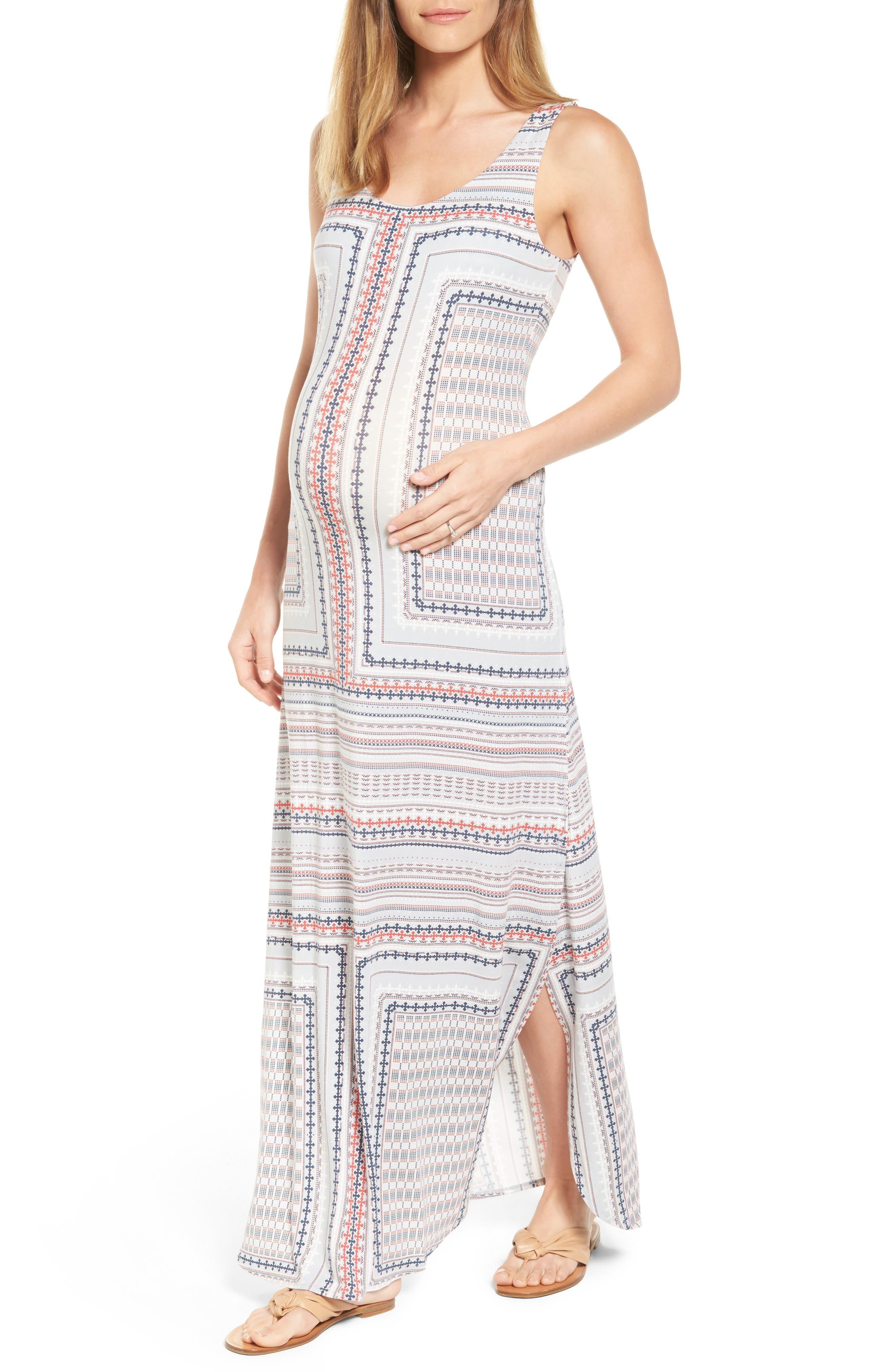Alternate Image 1 Selected - Tart Maternity Jack Maxi Dress