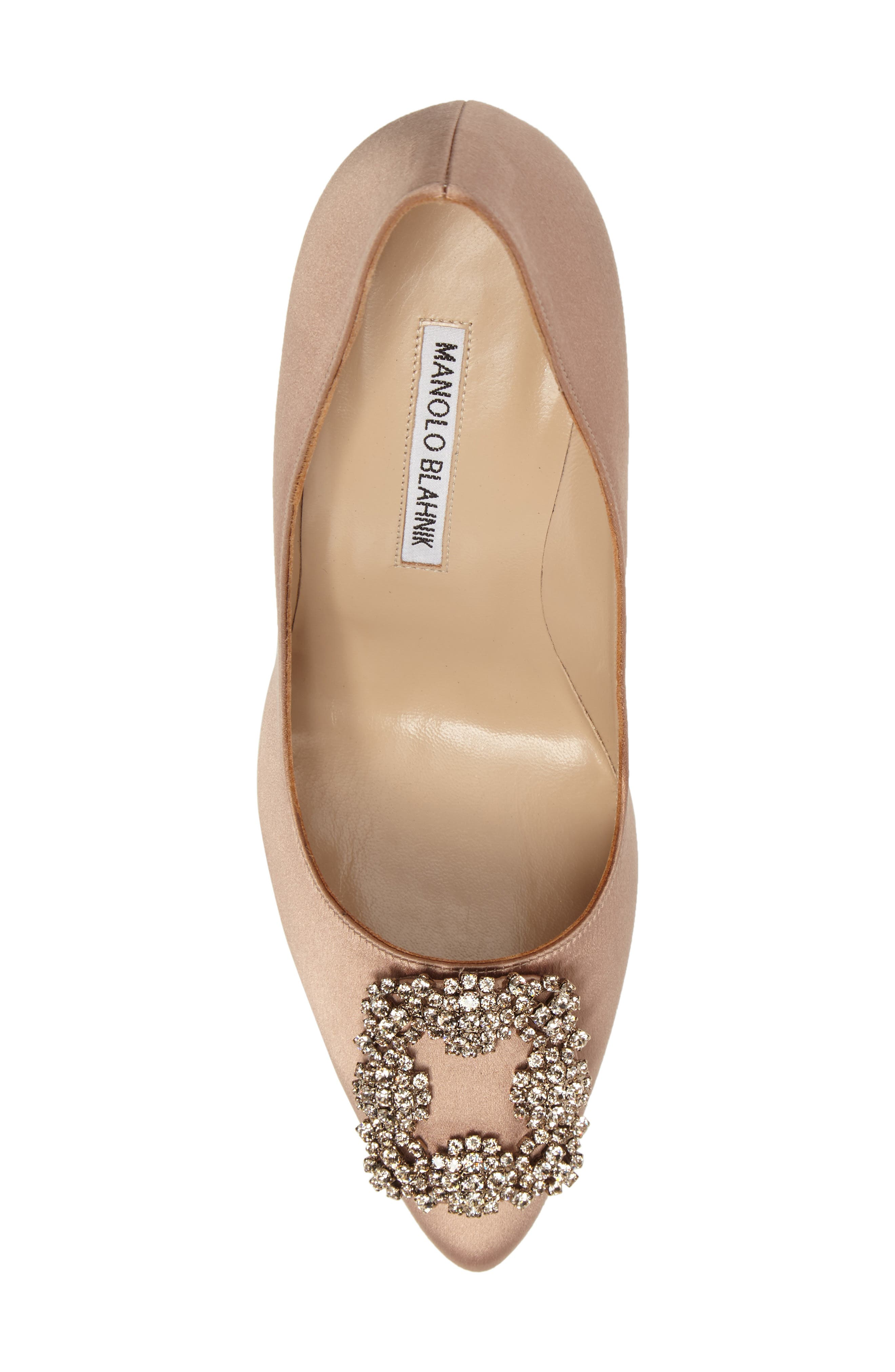 Alternate Image 5  - Manolo Blahnik 'Hangisi' Jewel Pump (Women)
