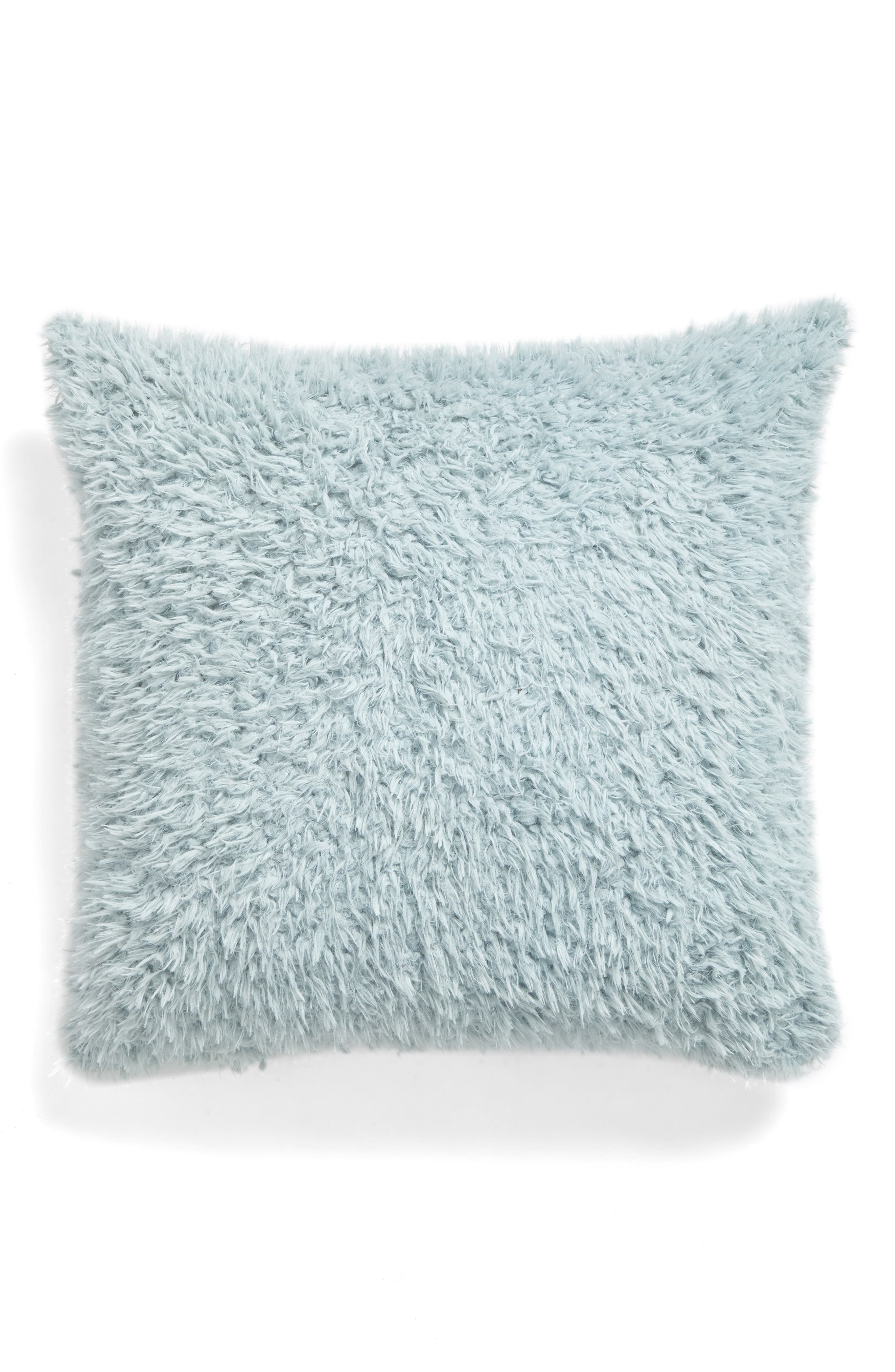 Main Image - Nordstrom at Home Shaggy Plush Pillow