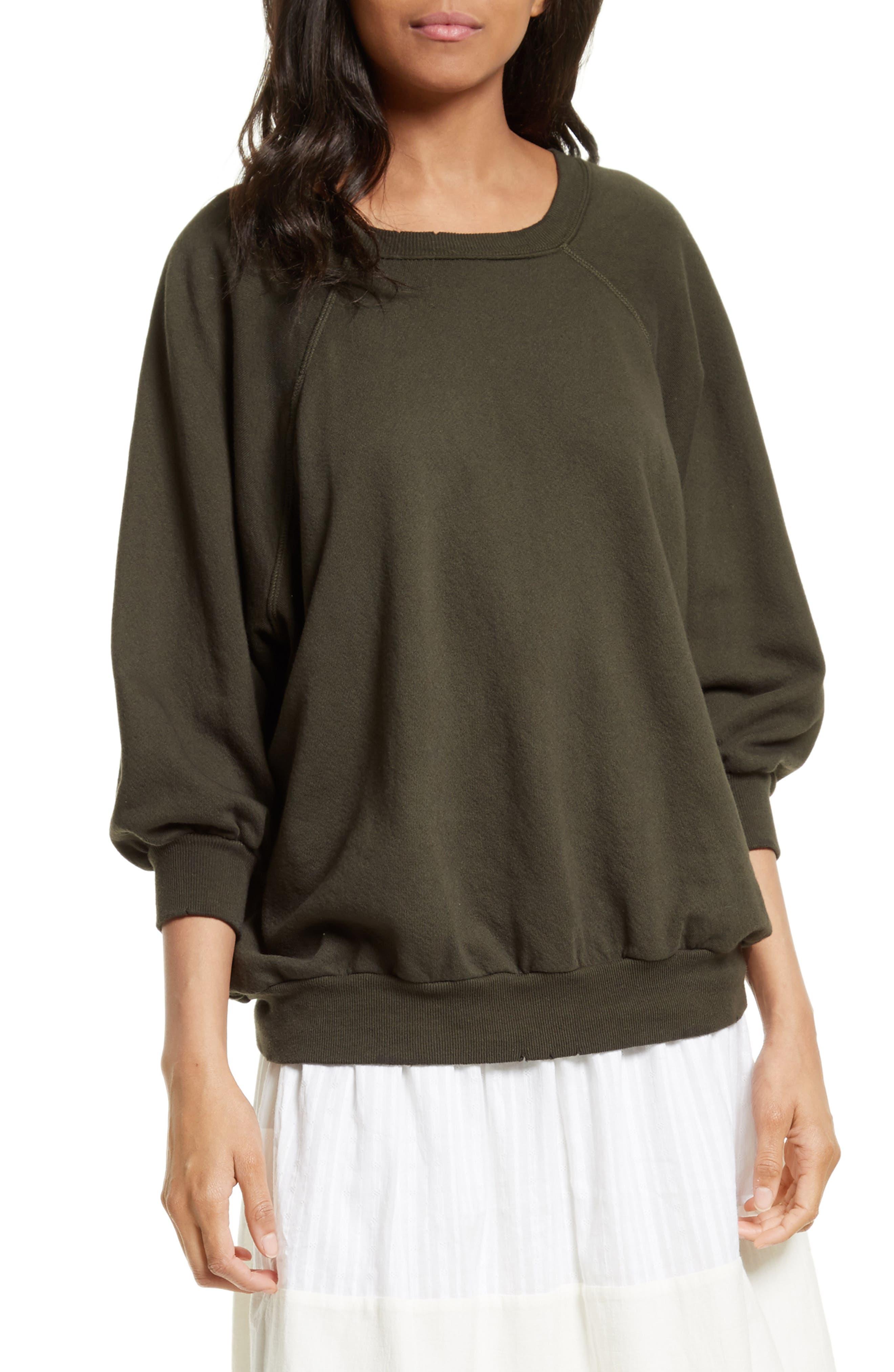 THE GREAT. The Bubble Sweatshirt