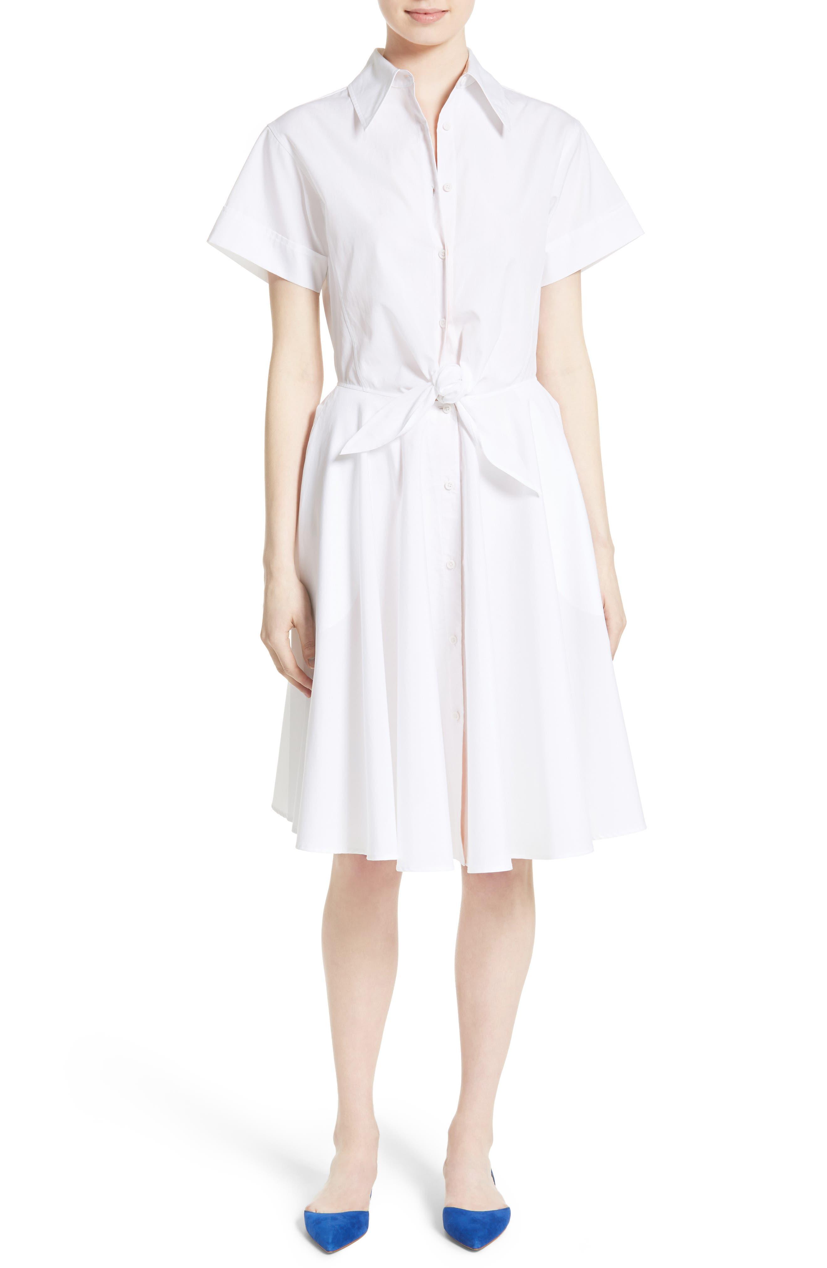 Main Image - Diane von Furstenberg Cotton Shirtdress