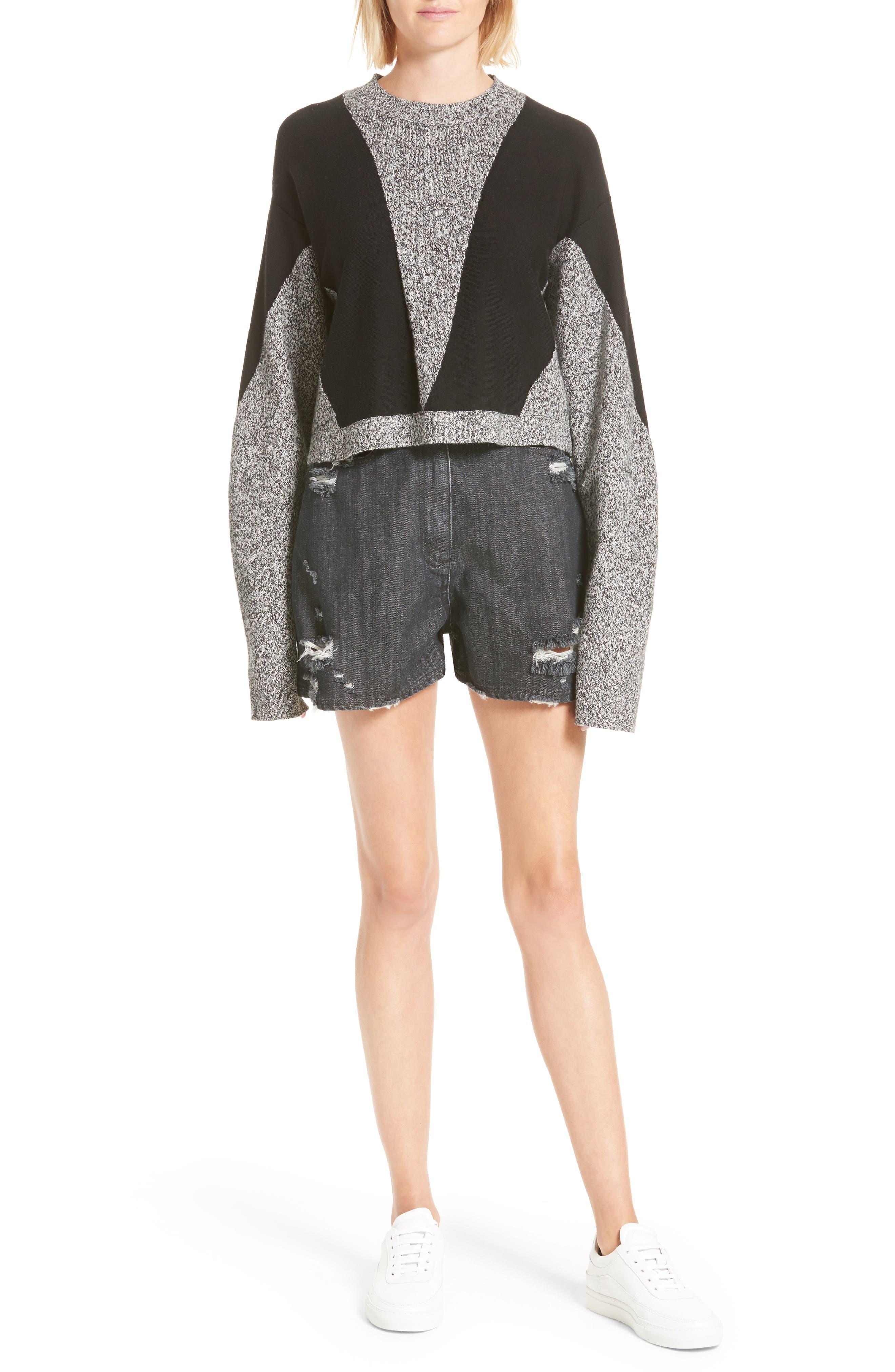 Sana Sweater,                             Alternate thumbnail 2, color,                             Grey Melange