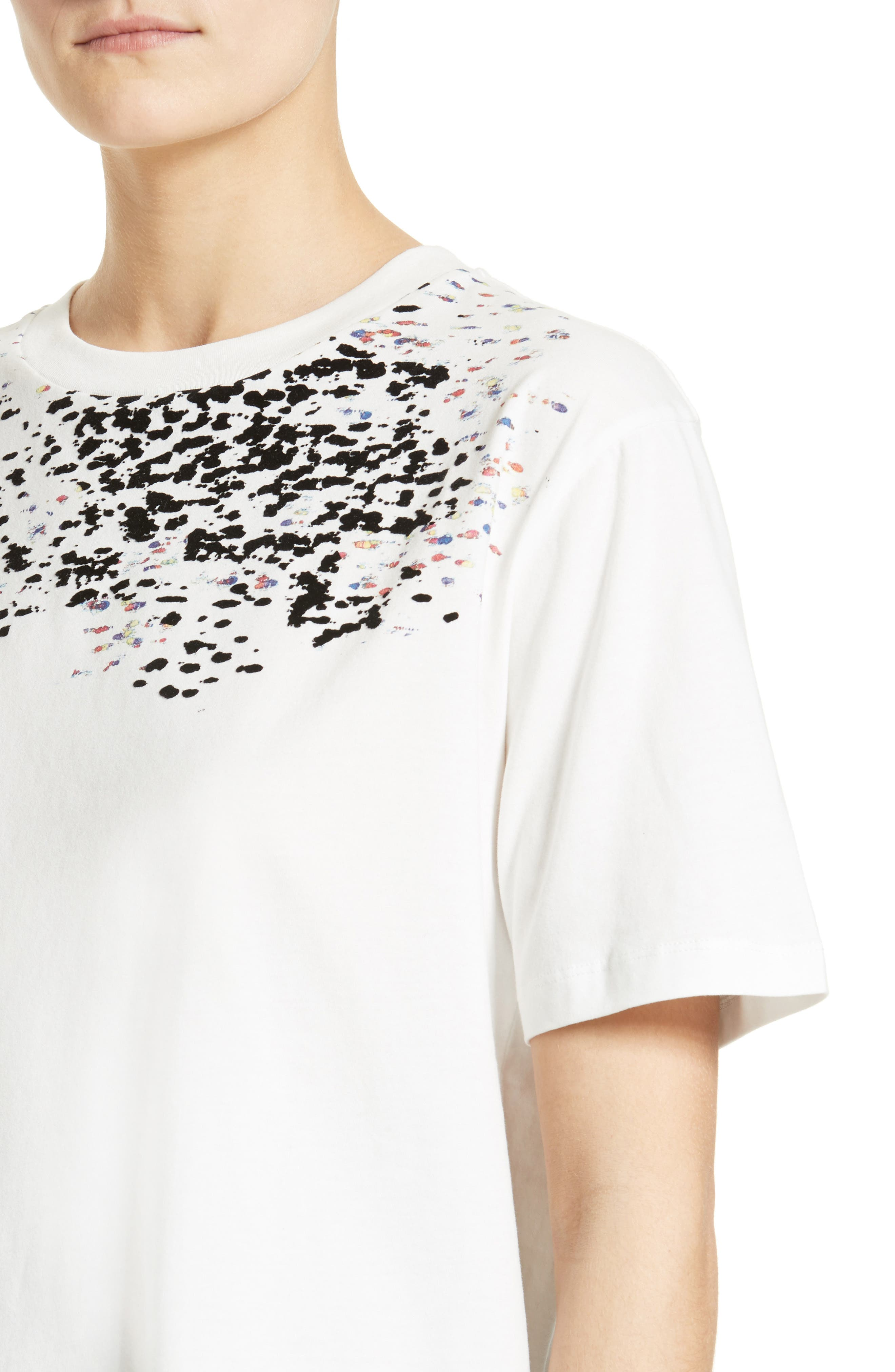 Adara Graphic Tee,                             Alternate thumbnail 4, color,                             Off White