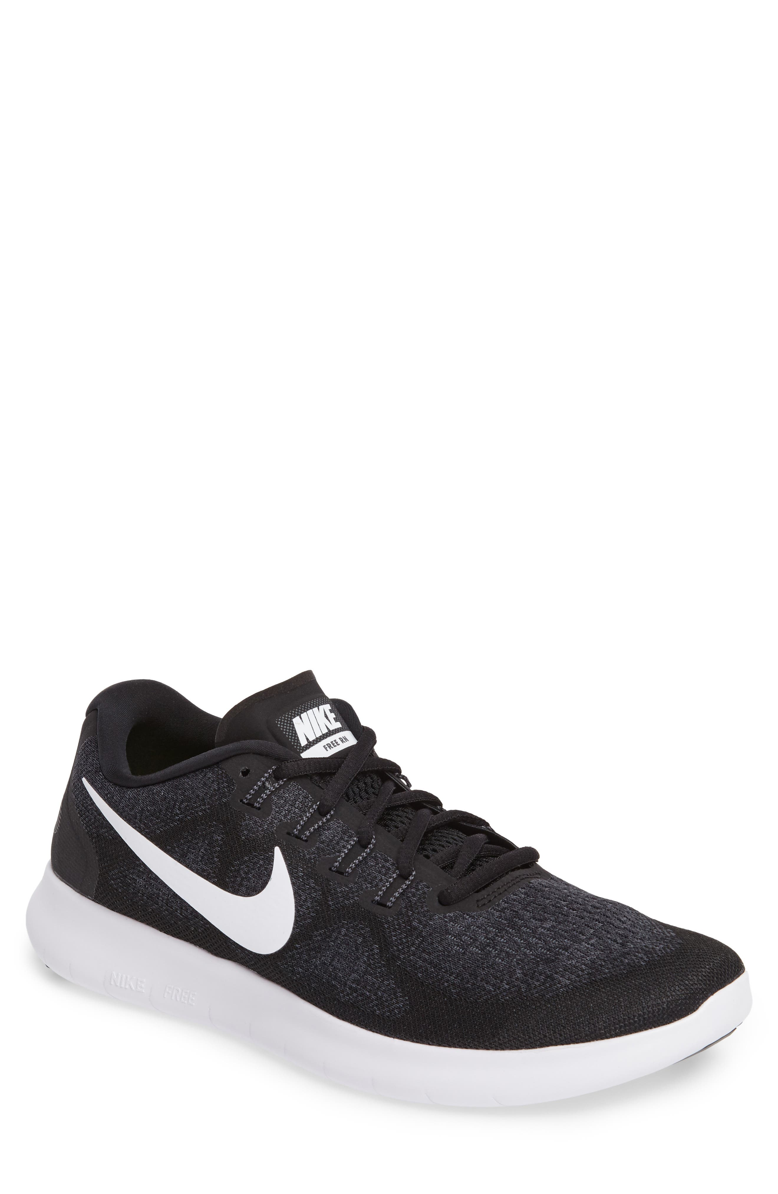 nike shoes white and black high top. nike free run 2017 running shoe (men) shoes white and black high top 0