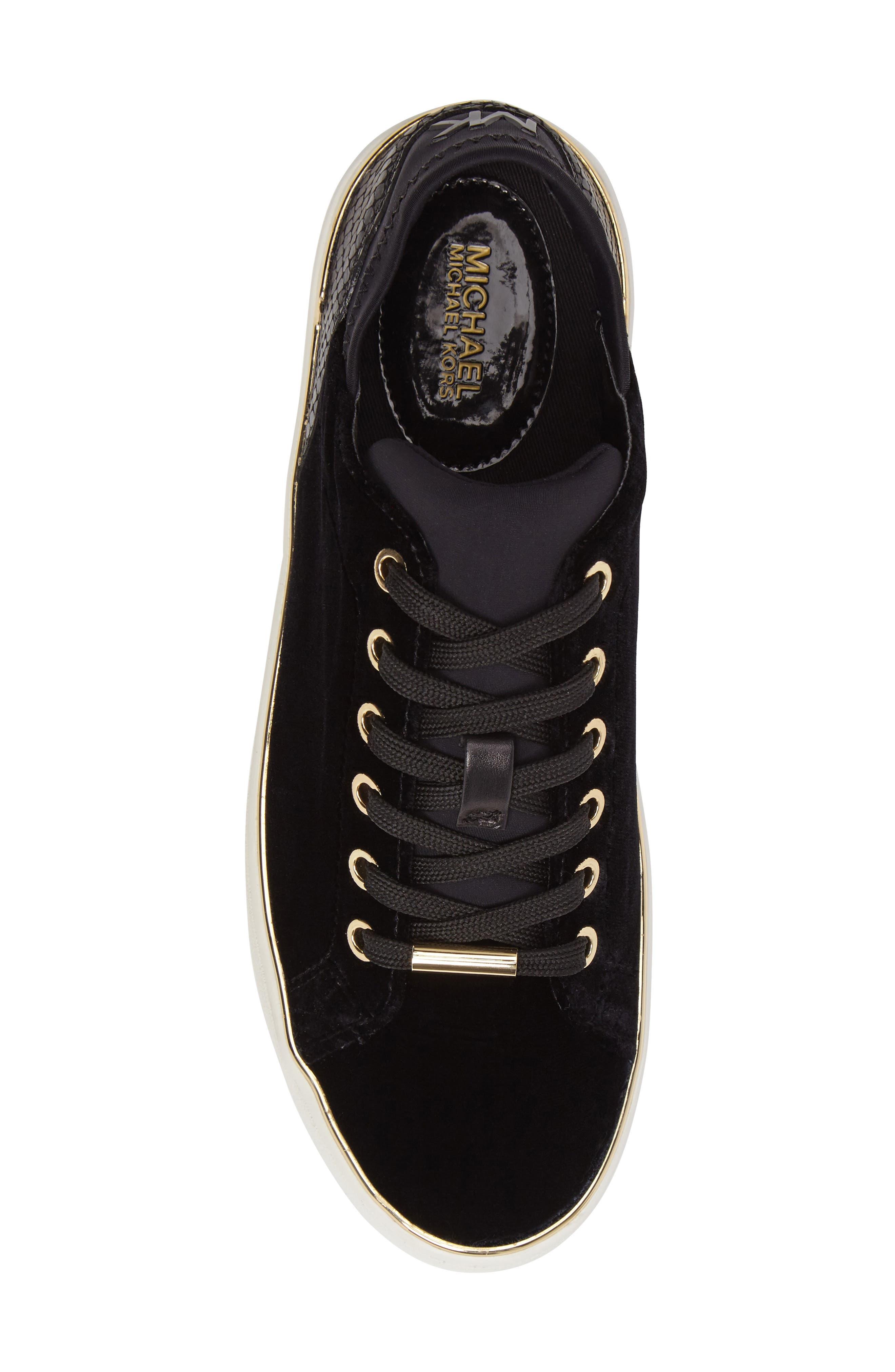 Scout Sneaker,                             Alternate thumbnail 5, color,                             Black