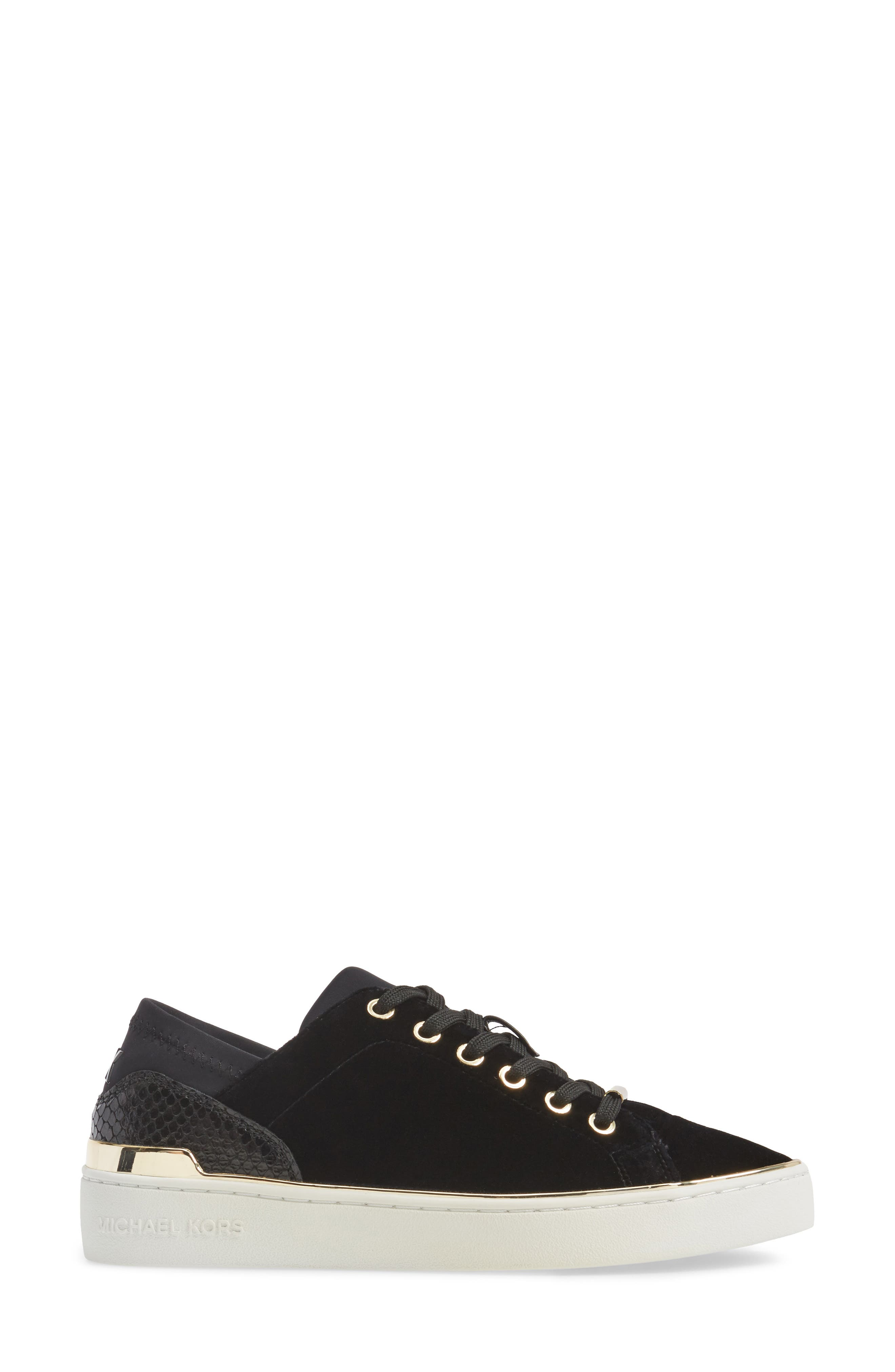 Scout Sneaker,                             Alternate thumbnail 3, color,                             Black