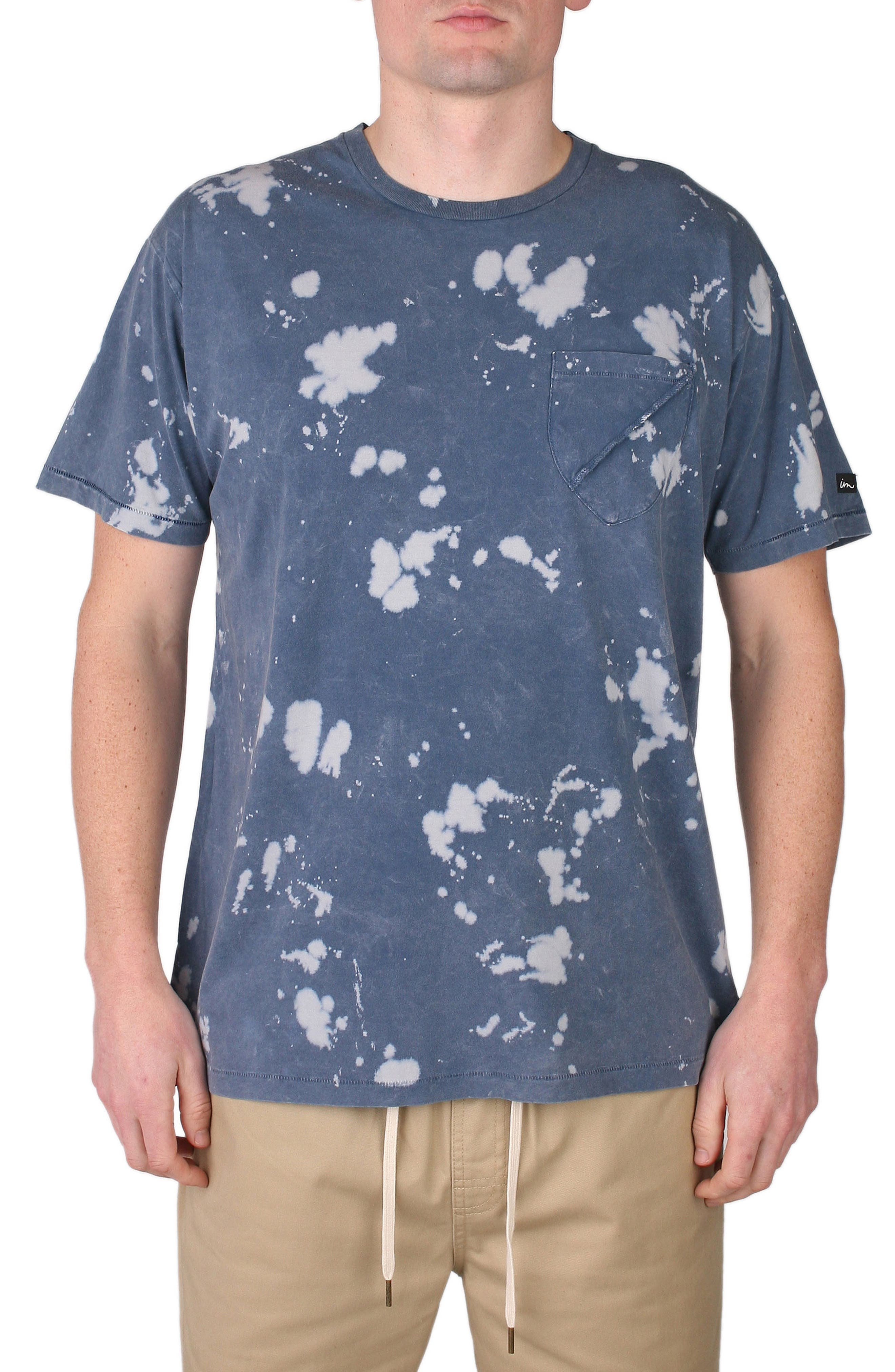 IMPERIAL MOTION Acid Washed Pocket T-Shirt