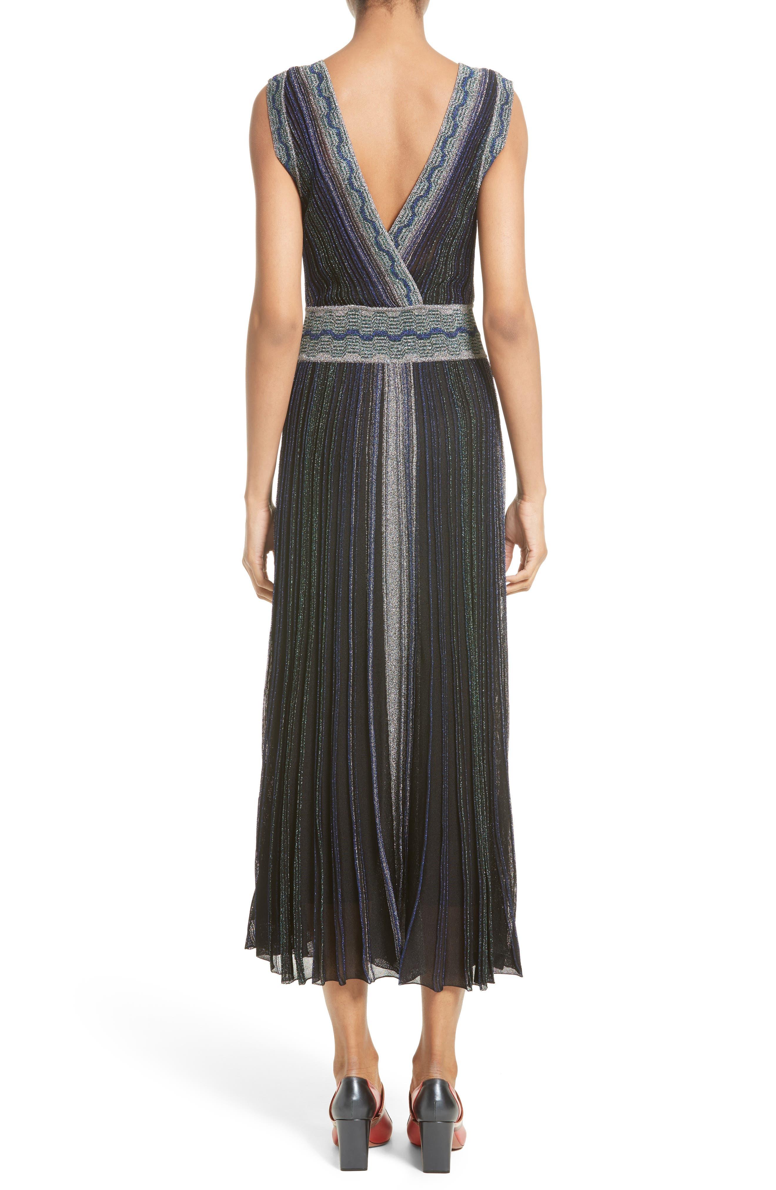 Alternate Image 3  - Missoni Reversible Metallic Rib Knit Dress