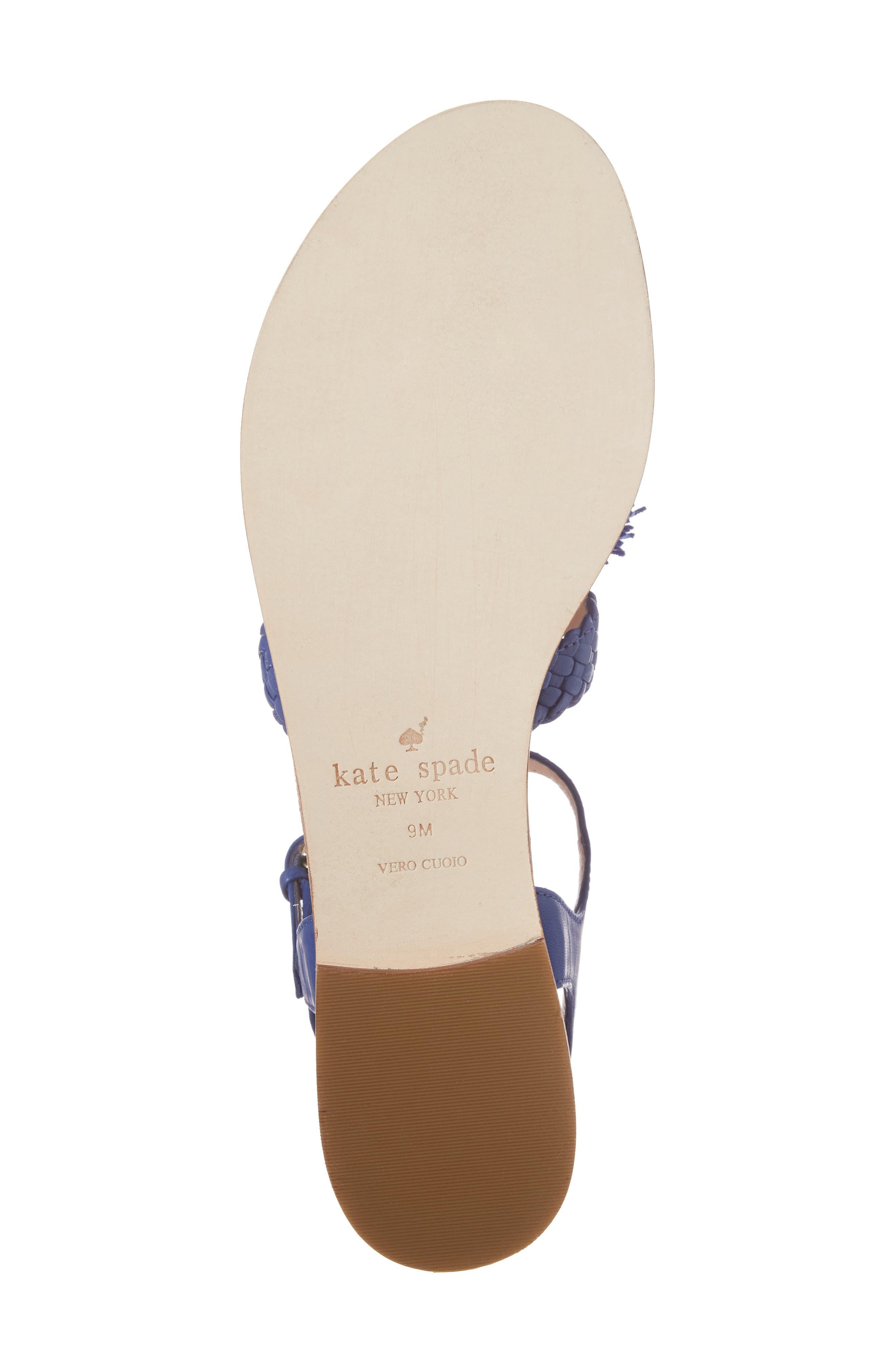 Alternate Image 6  - kate spade new york sunset flat sandal (Women)