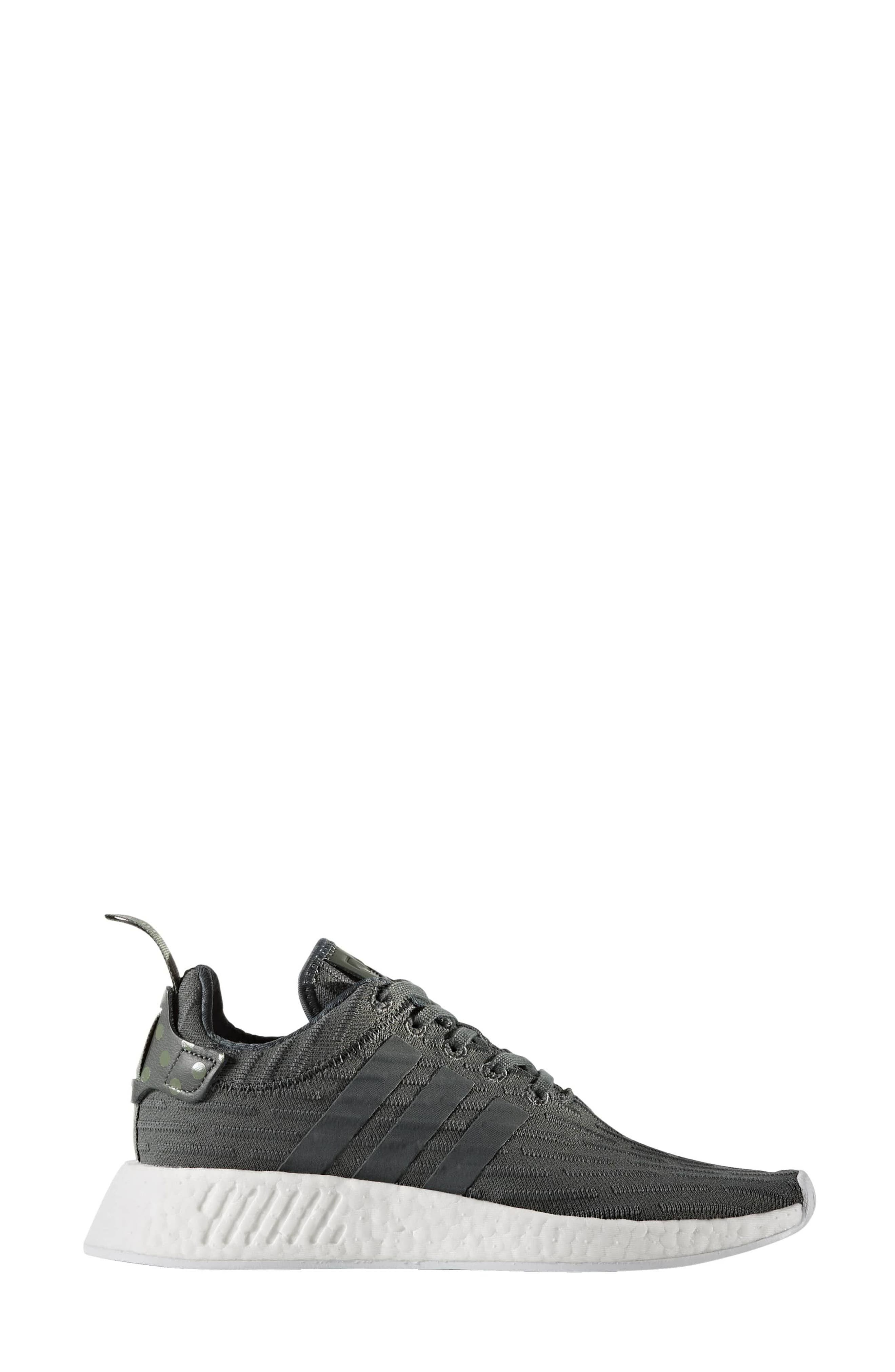 5b5db7a037786 Adidas Originals Nmd R2 Running Shoe In Ivy  White  Green