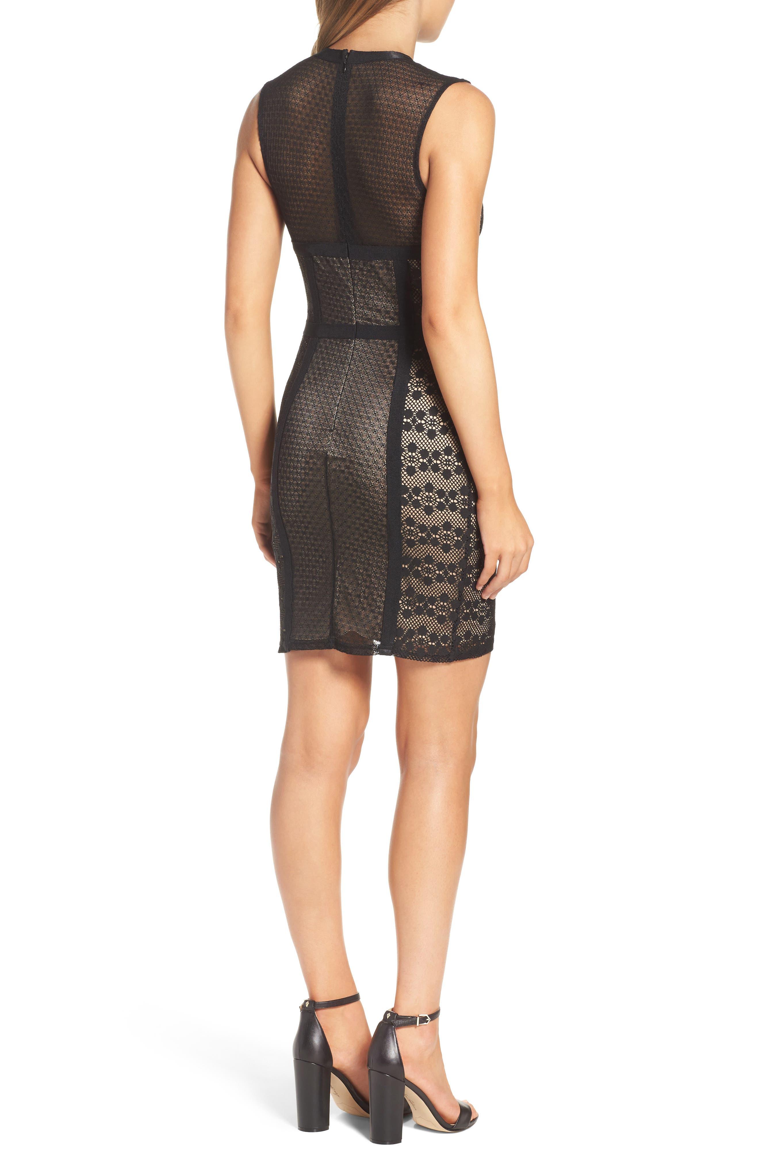 Hola Mamacita Body-Con Dress,                             Alternate thumbnail 2, color,                             Black