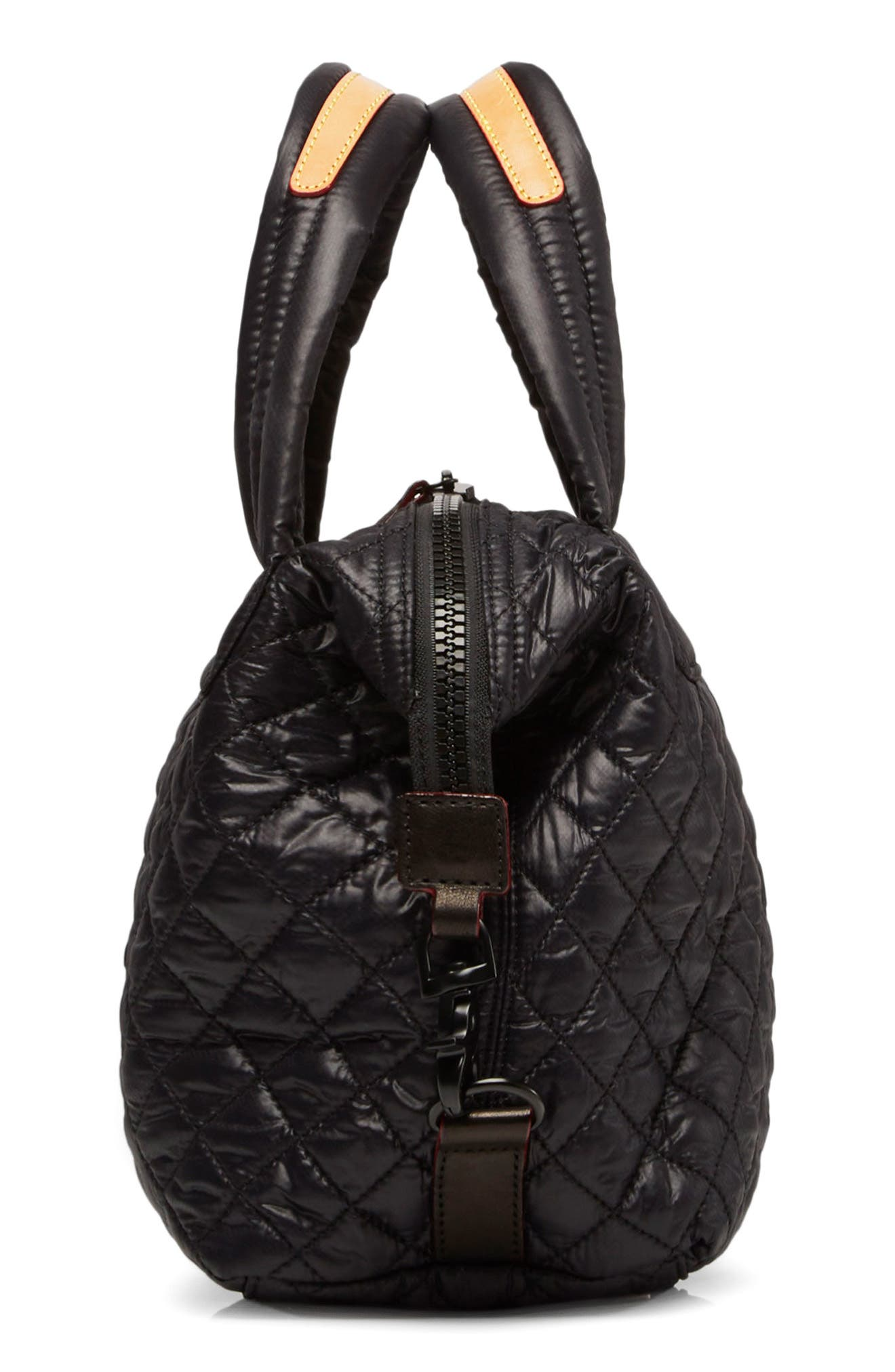 Small Sutton Bag,                             Alternate thumbnail 4, color,                             Black