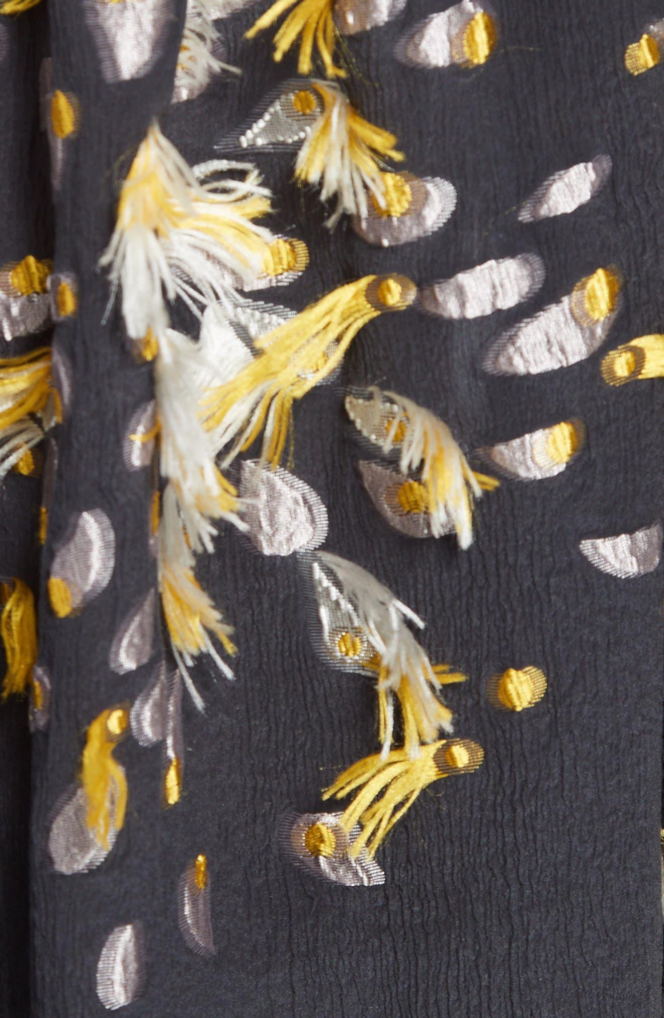 Alternate Image 3  - Chloé Firework Silk Fil Coupé Top