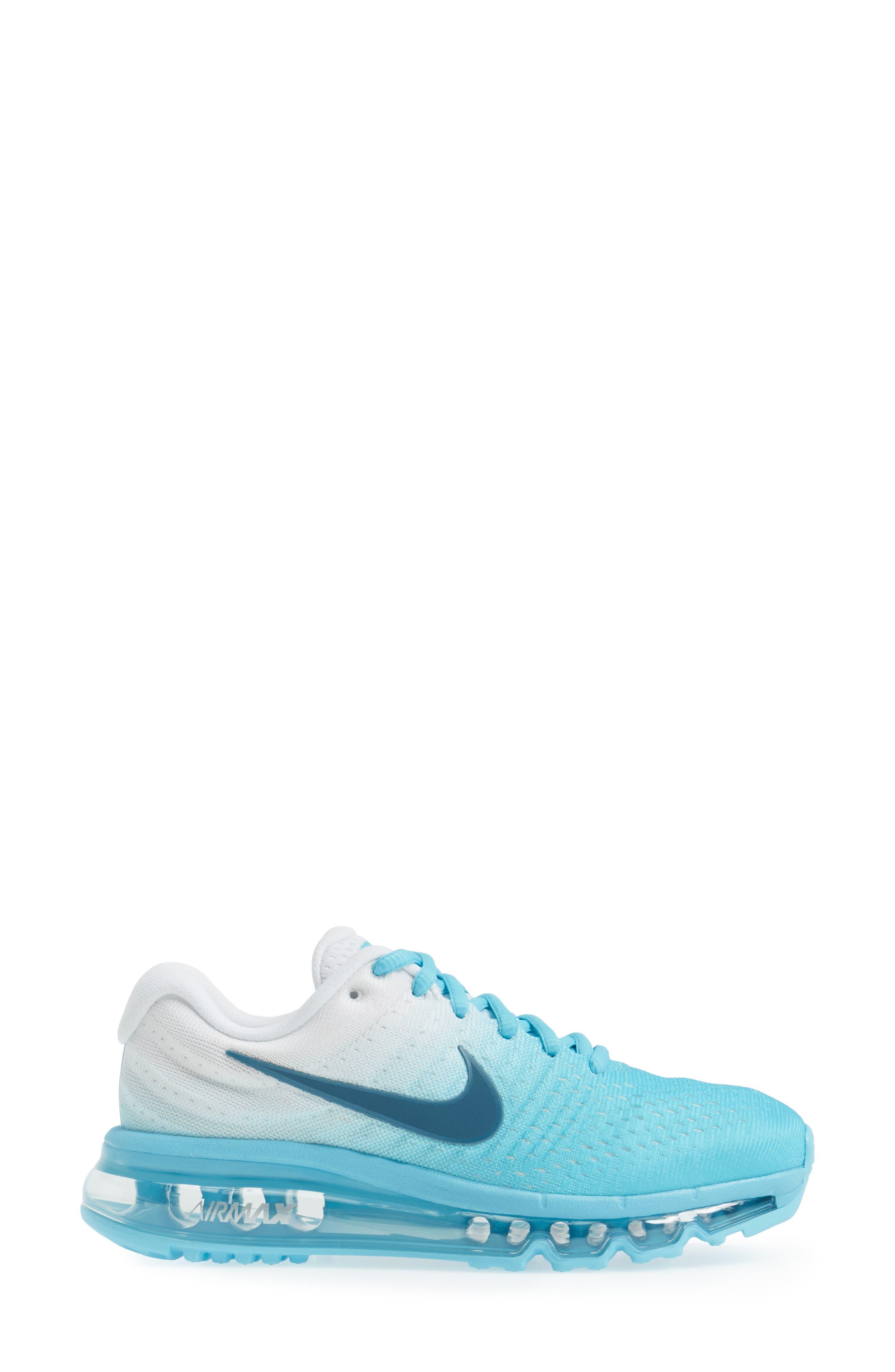 Alternate Image 3  - Nike Air Max 2017 Running Shoe (Women)