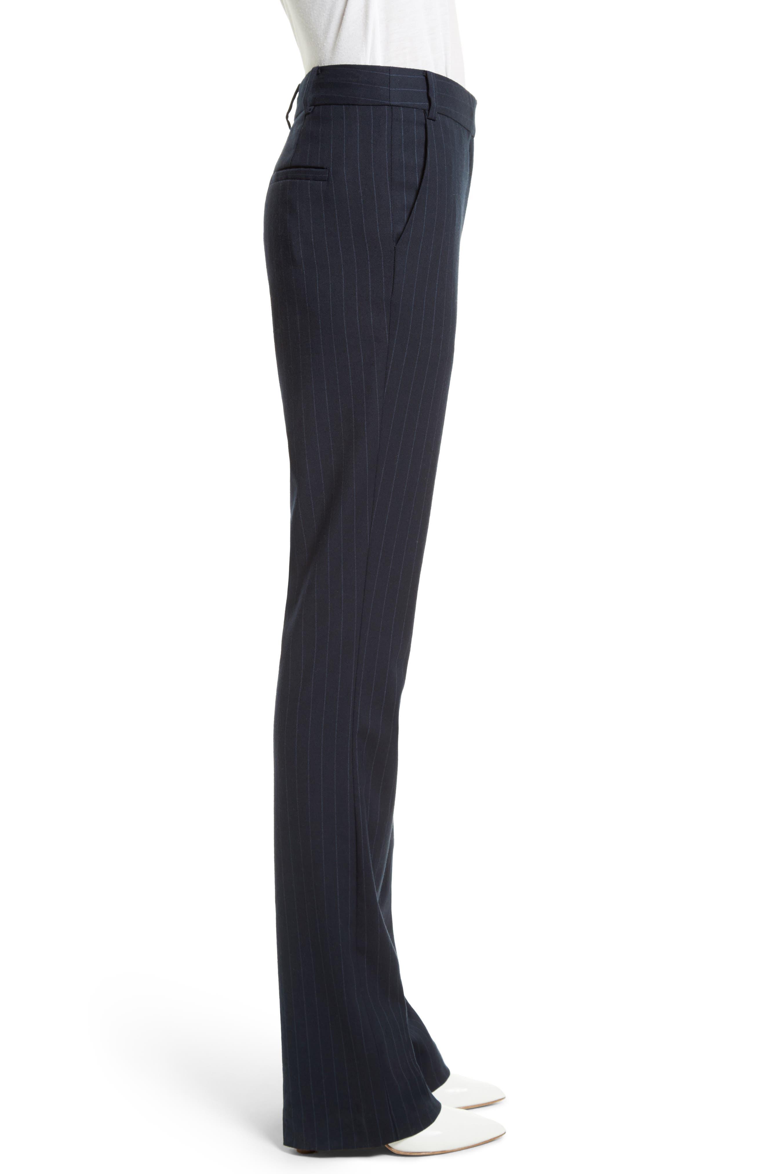 Delmont Bootcut Pants,                             Alternate thumbnail 4, color,                             Navy/ Cobalt