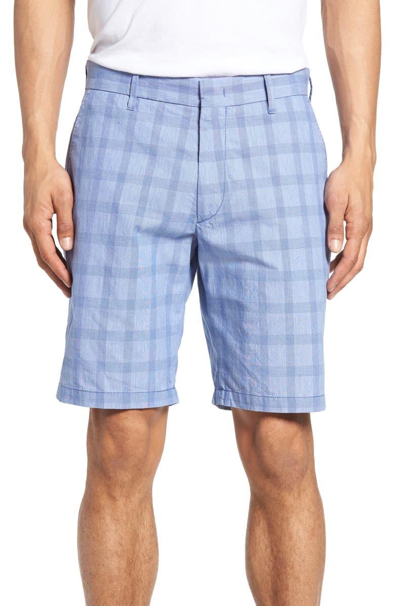 Antrorse Plaid Shorts