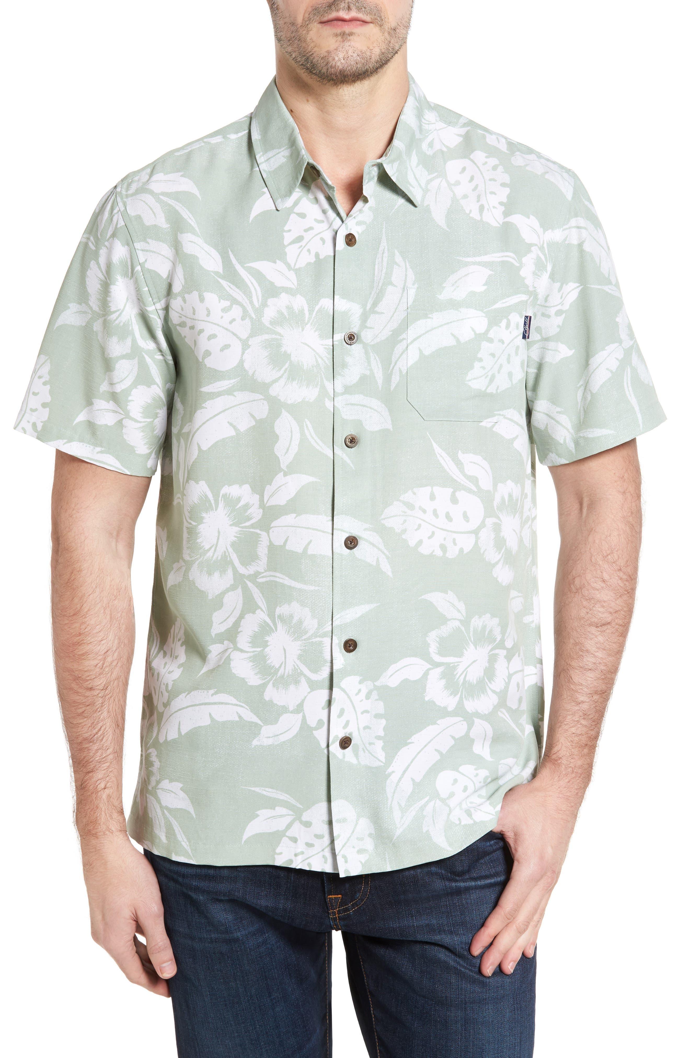 Jack O'Neill Ixtapa Regular Fit Short Sleeve Print Sport Shirt