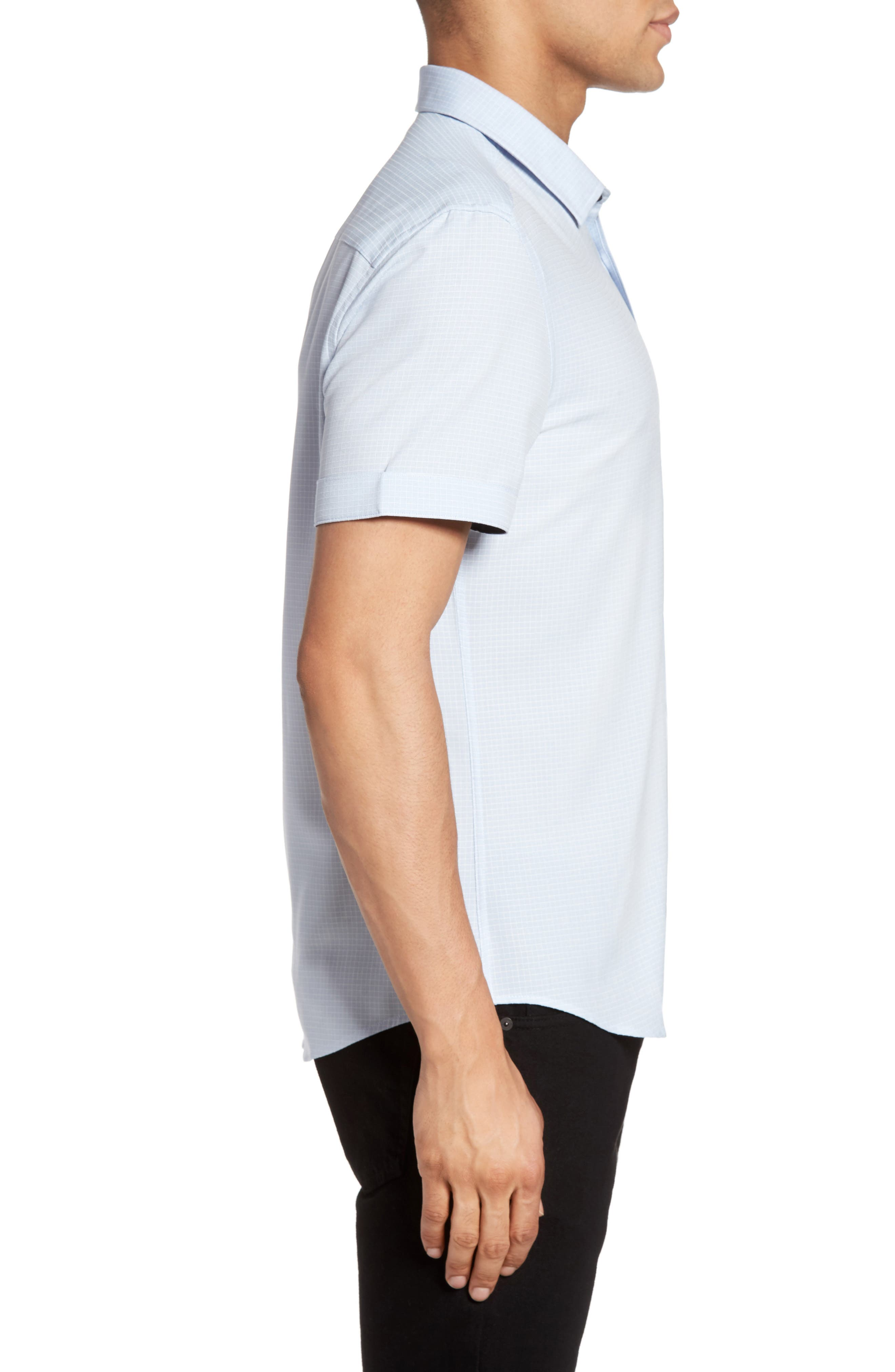 Alternate Image 3  - Vince Camuto Check Sport Shirt