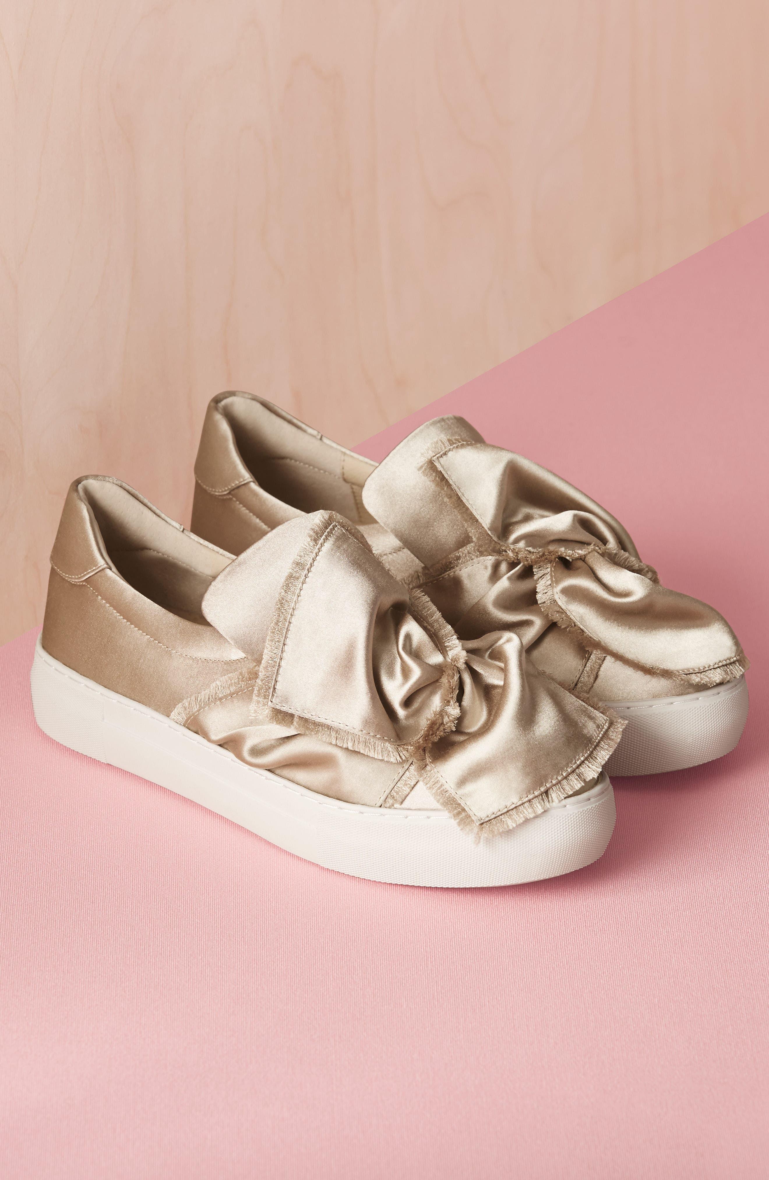 Alternate Image 7  - JSlides Azzura Bow Slip-On Sneaker