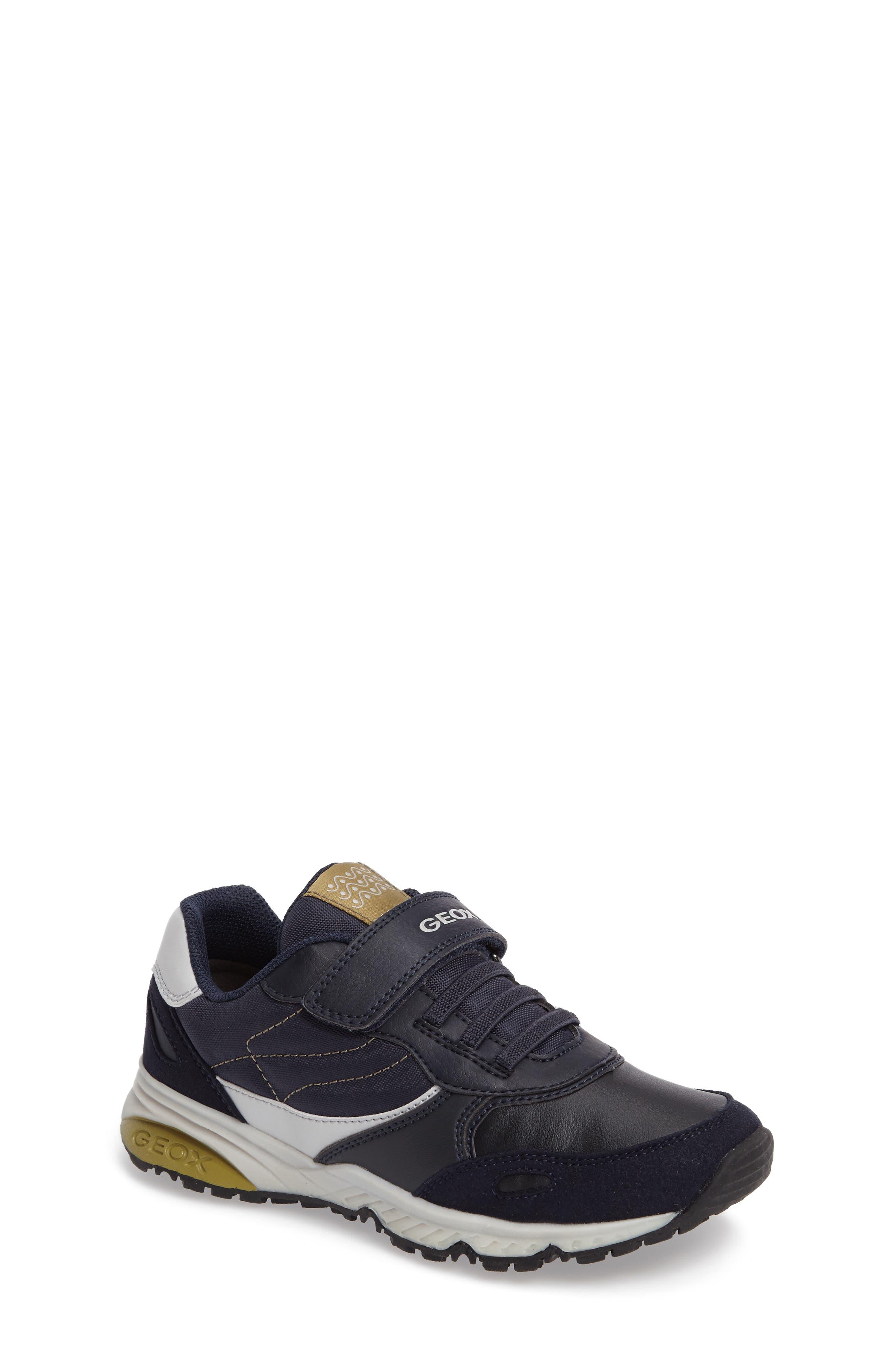 Alternate Image 1 Selected - Geox Jr Bernie Sneaker (Toddler, Little Kid & Big Kid)