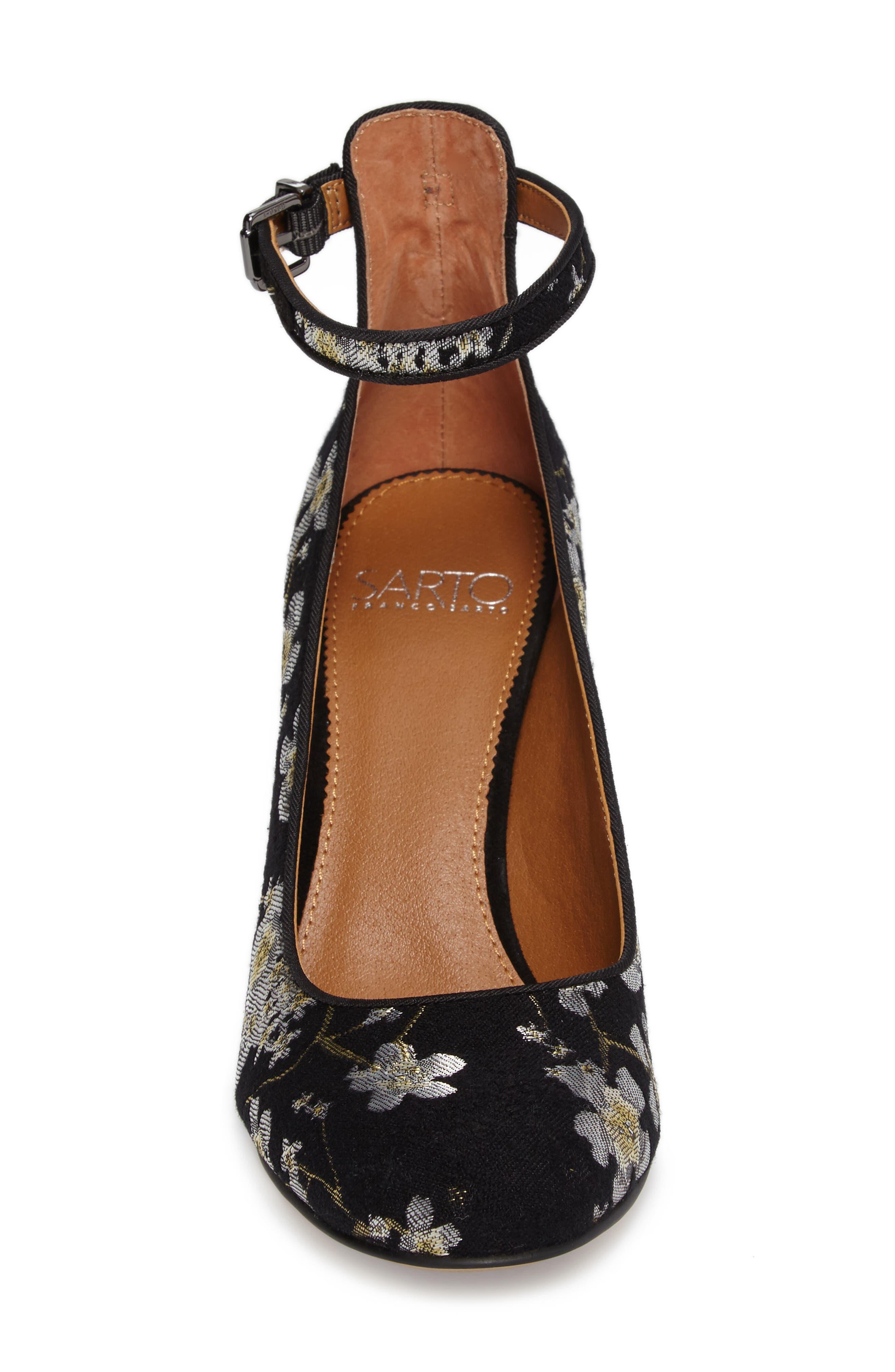 Alternate Image 4  - SARTO by Franco Sarto Abbington Ankle Strap Pump (Women)