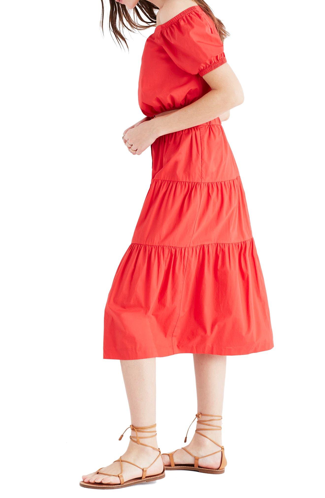 Alternate Image 4  - Madewell Bistro Midi Skirt