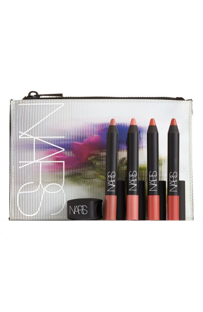 Velvet Matte Swatches: NARS Velvet Matte Lipstick Pencil Set ($110 Value)