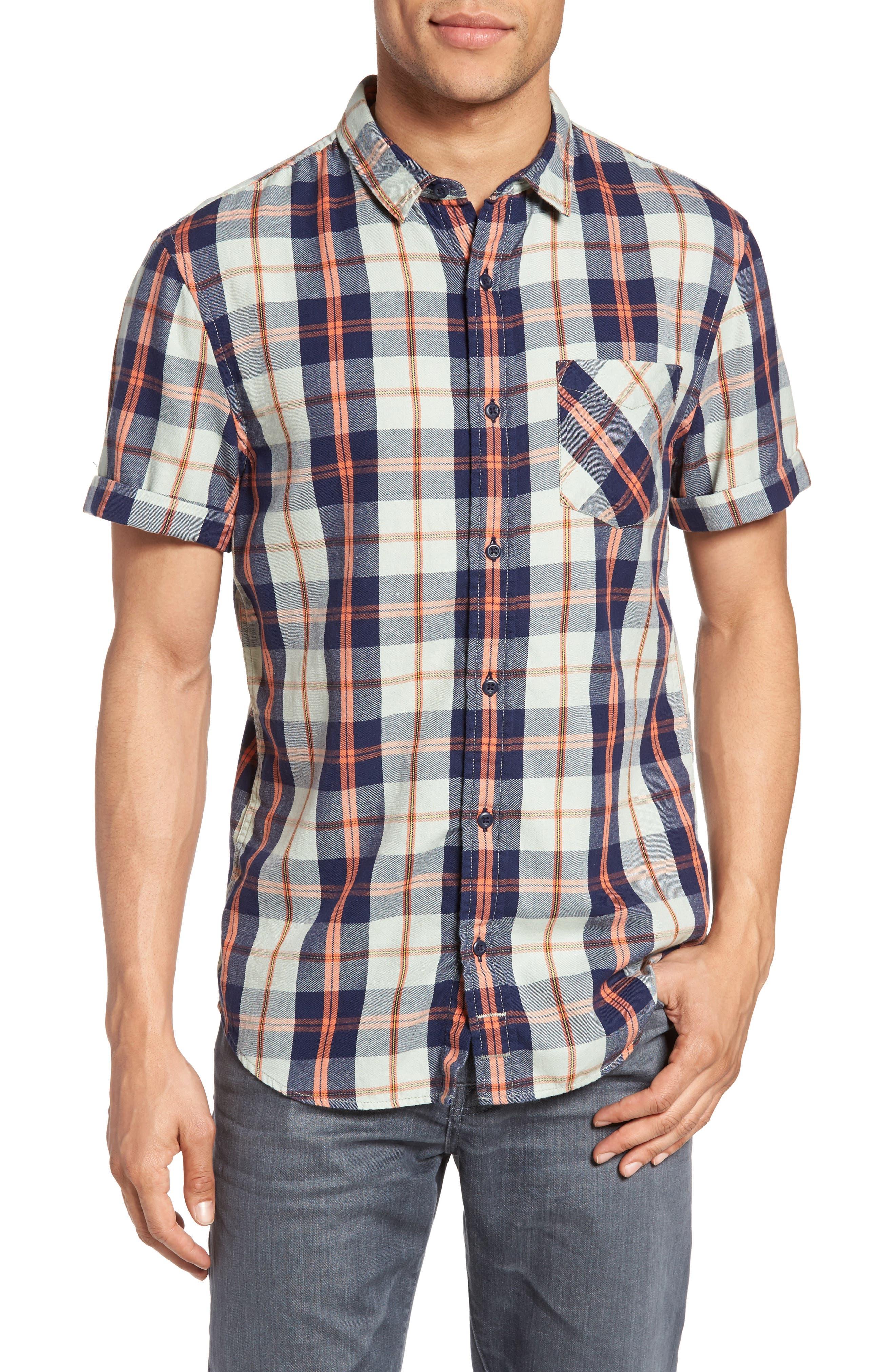 1901 Flannel Plaid Shirt
