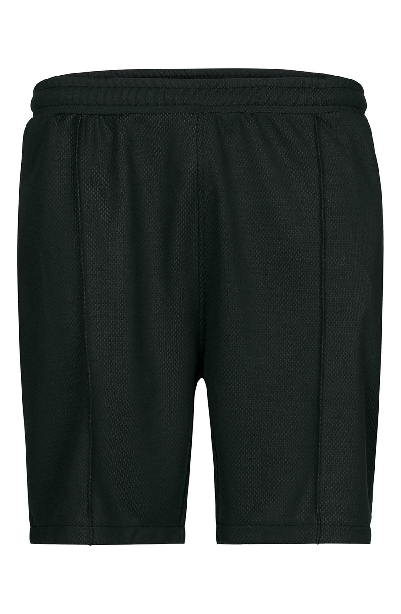 Alternate Image 5  - Topman Two Tone Mesh Jersey Shorts