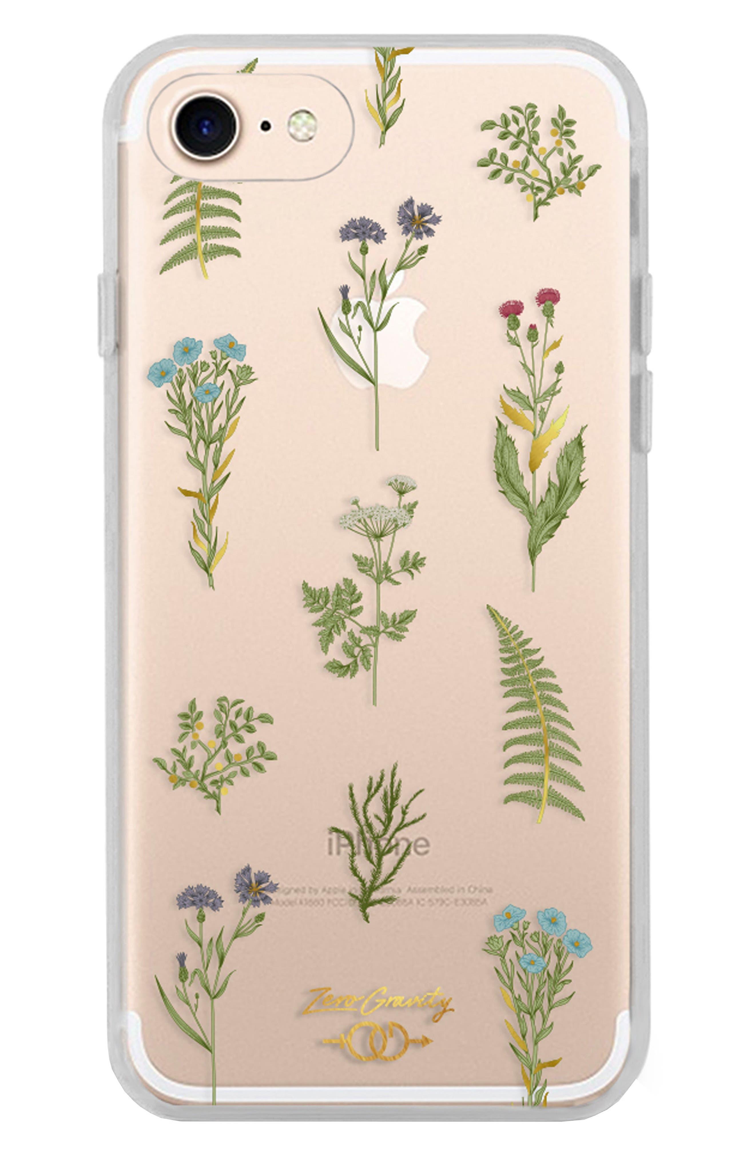 Native Plants iPhone 7 & 7 Plus Case,                         Main,                         color, Green Multi