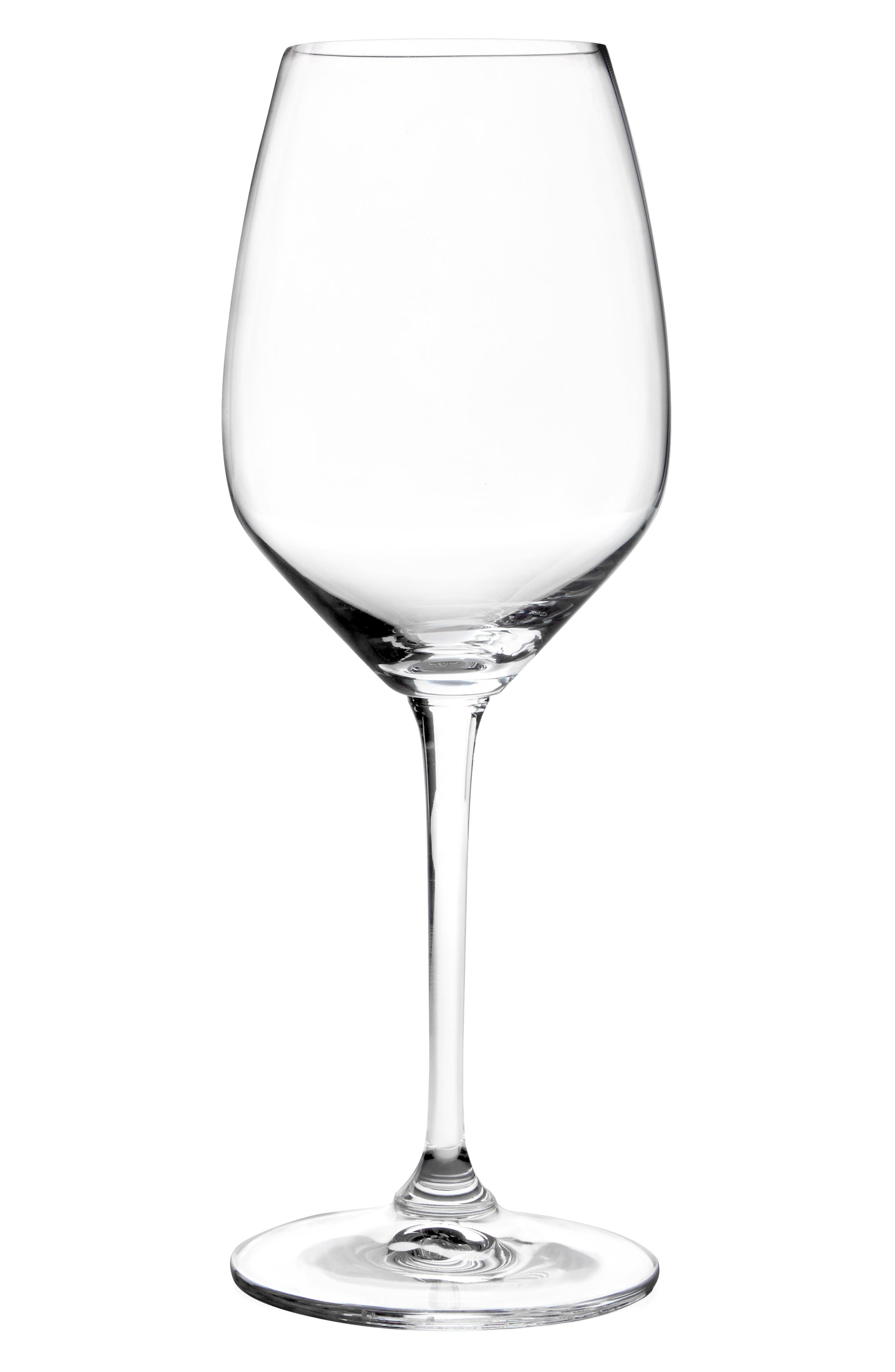 Heart to Heart Set of 2 Riesling Glasses,                         Main,                         color, Clear