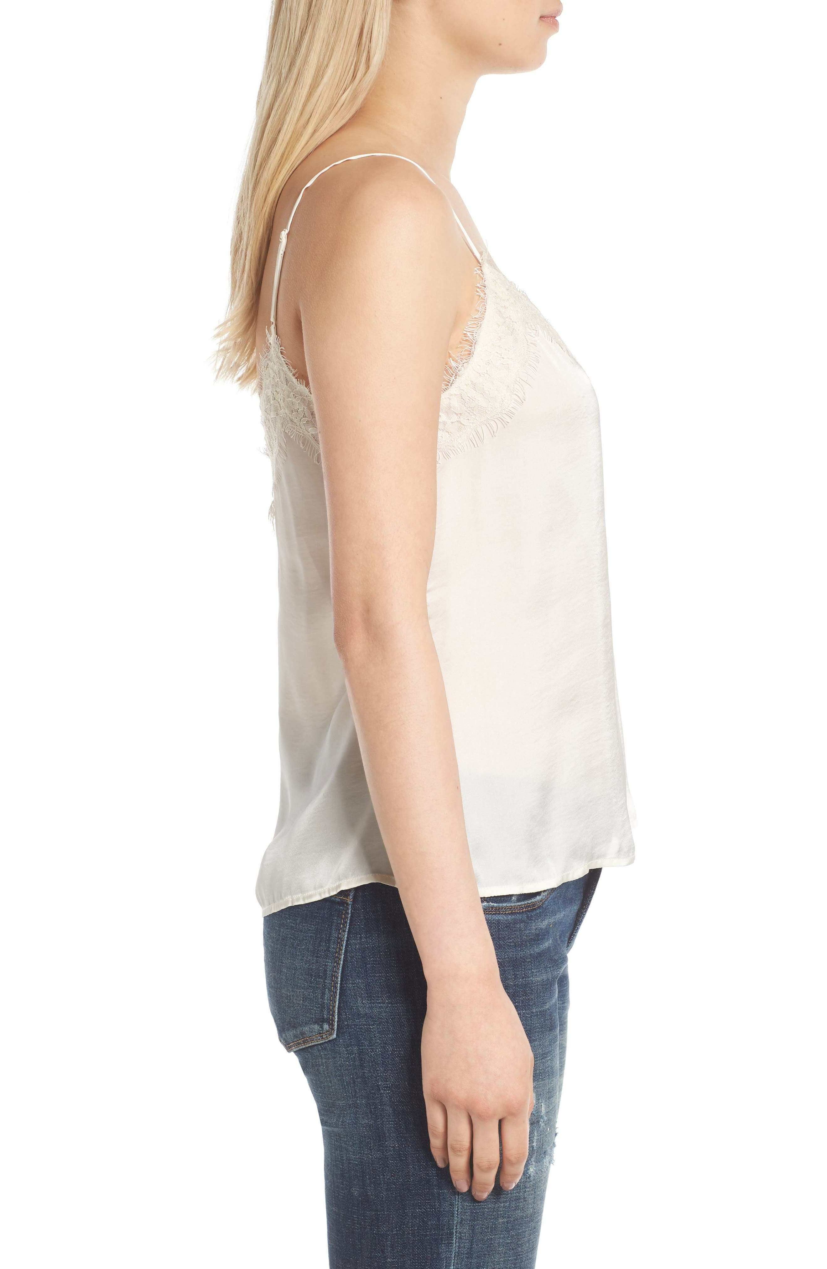 Alternate Image 3  - BP. Lace Trim Satin Camisole