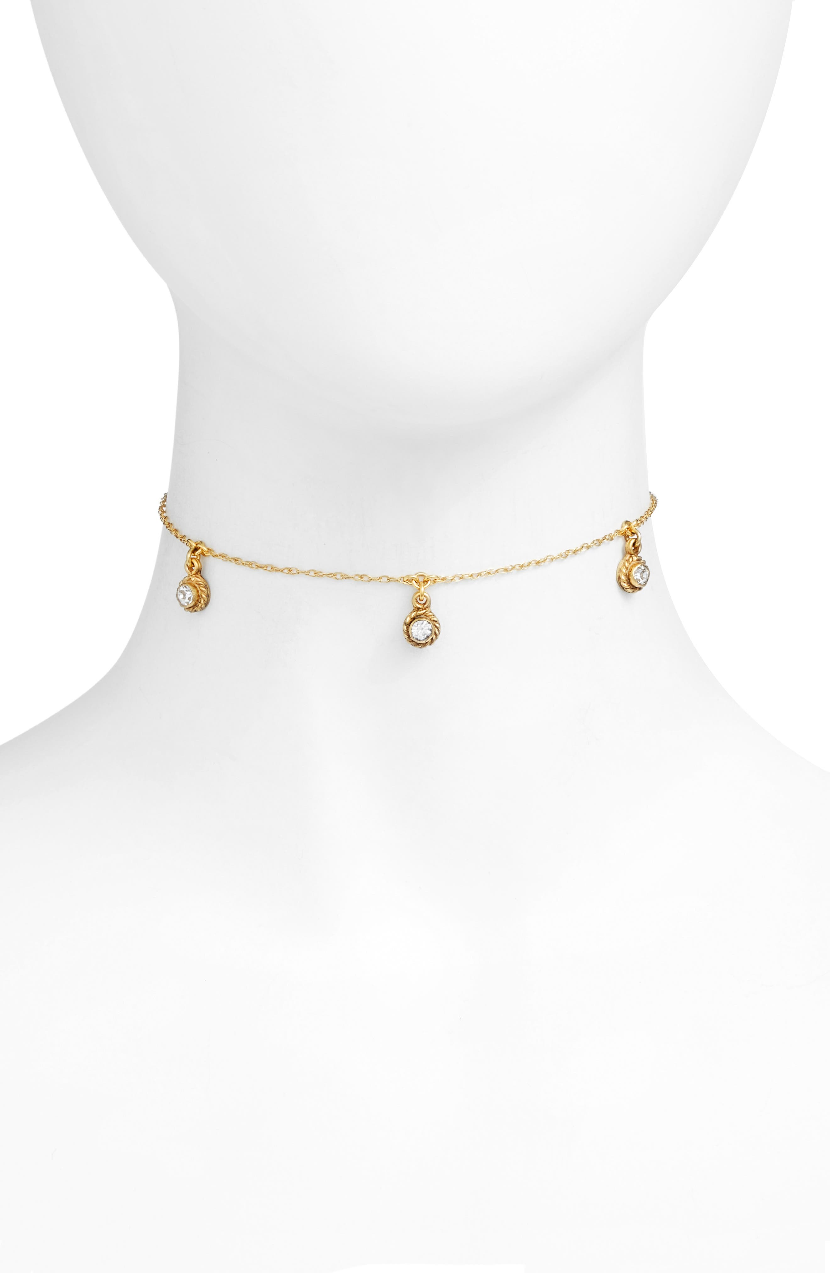 Santa Monica Choker,                         Main,                         color, Gold