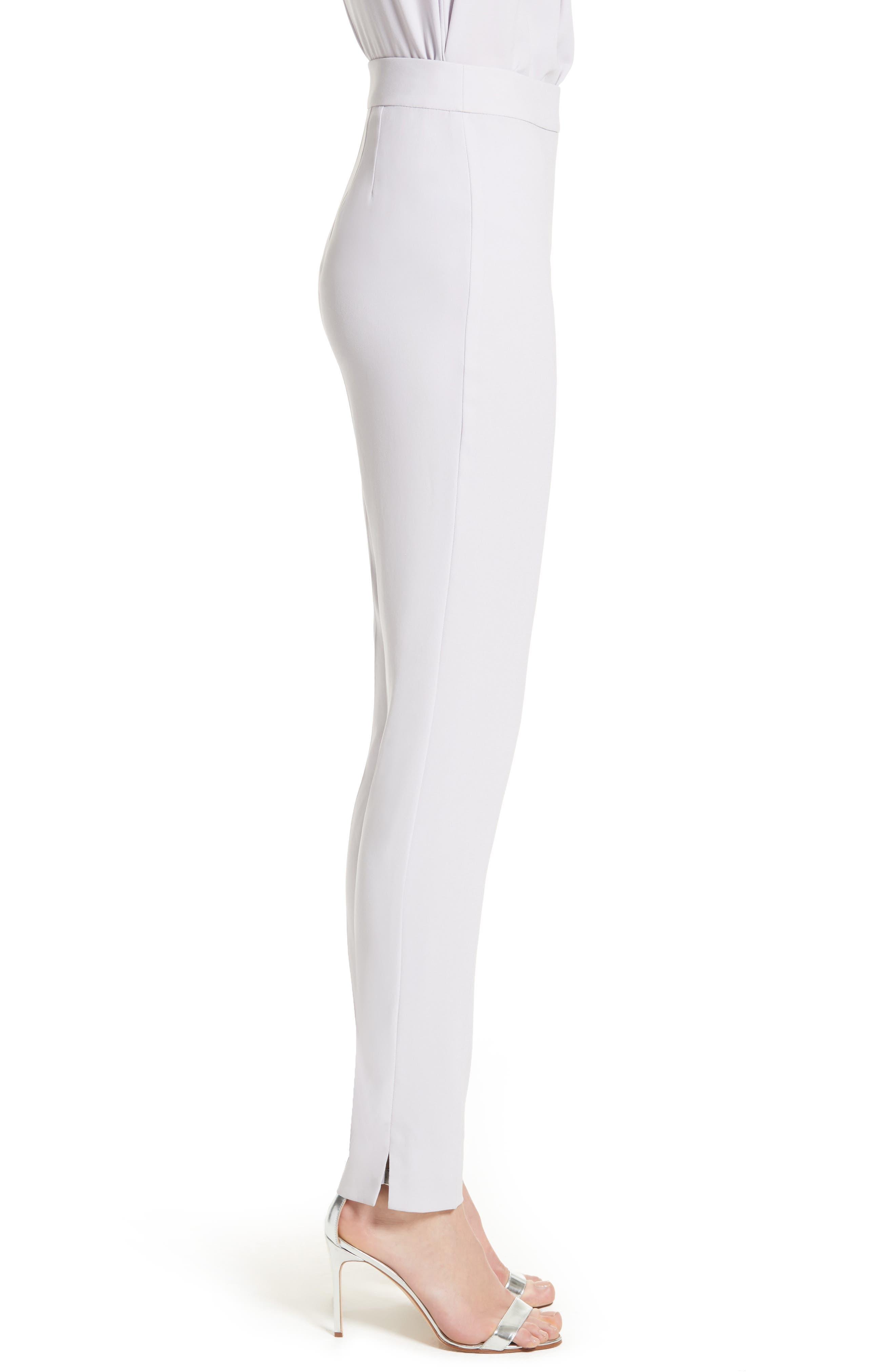Alternate Image 3  - St. John Collection Emma Satin Back Crepe Pants