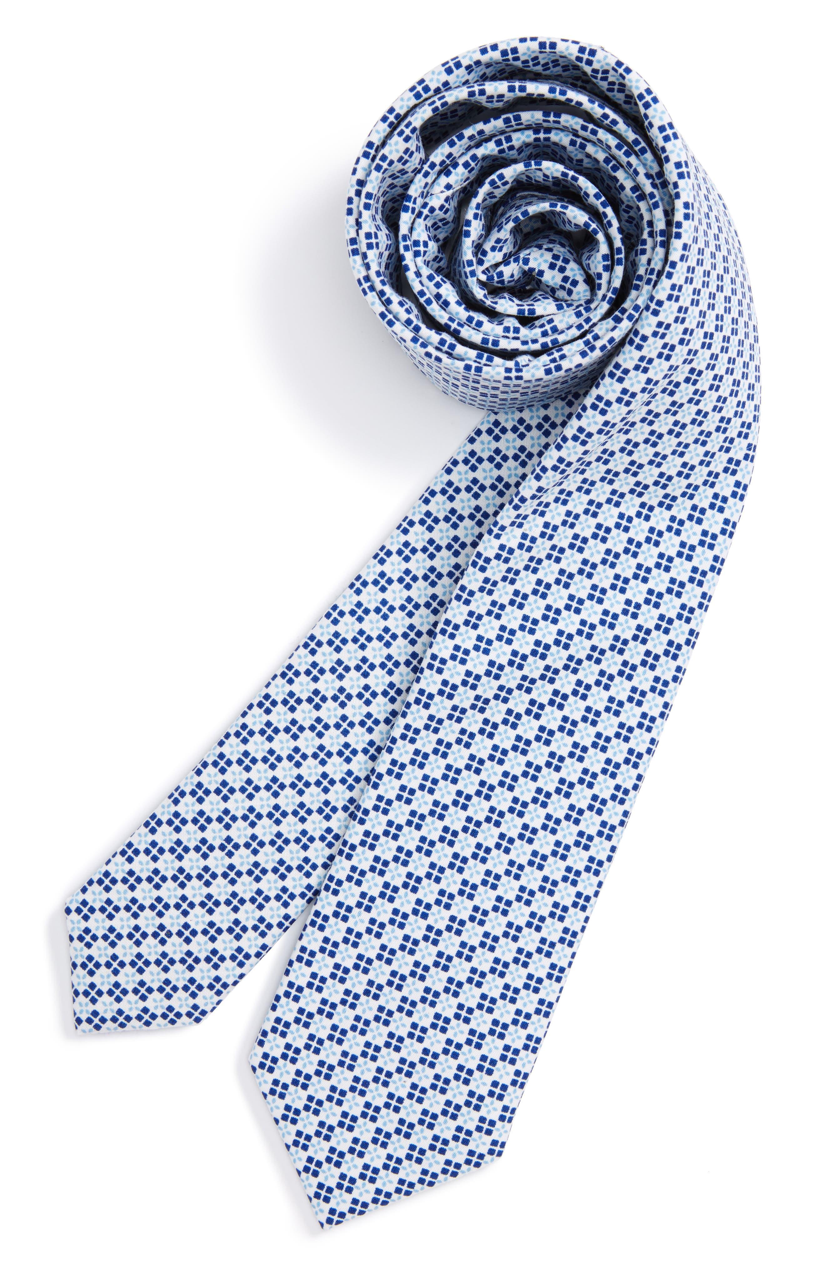Nordstrom Neat 4Hand Cotton Tie