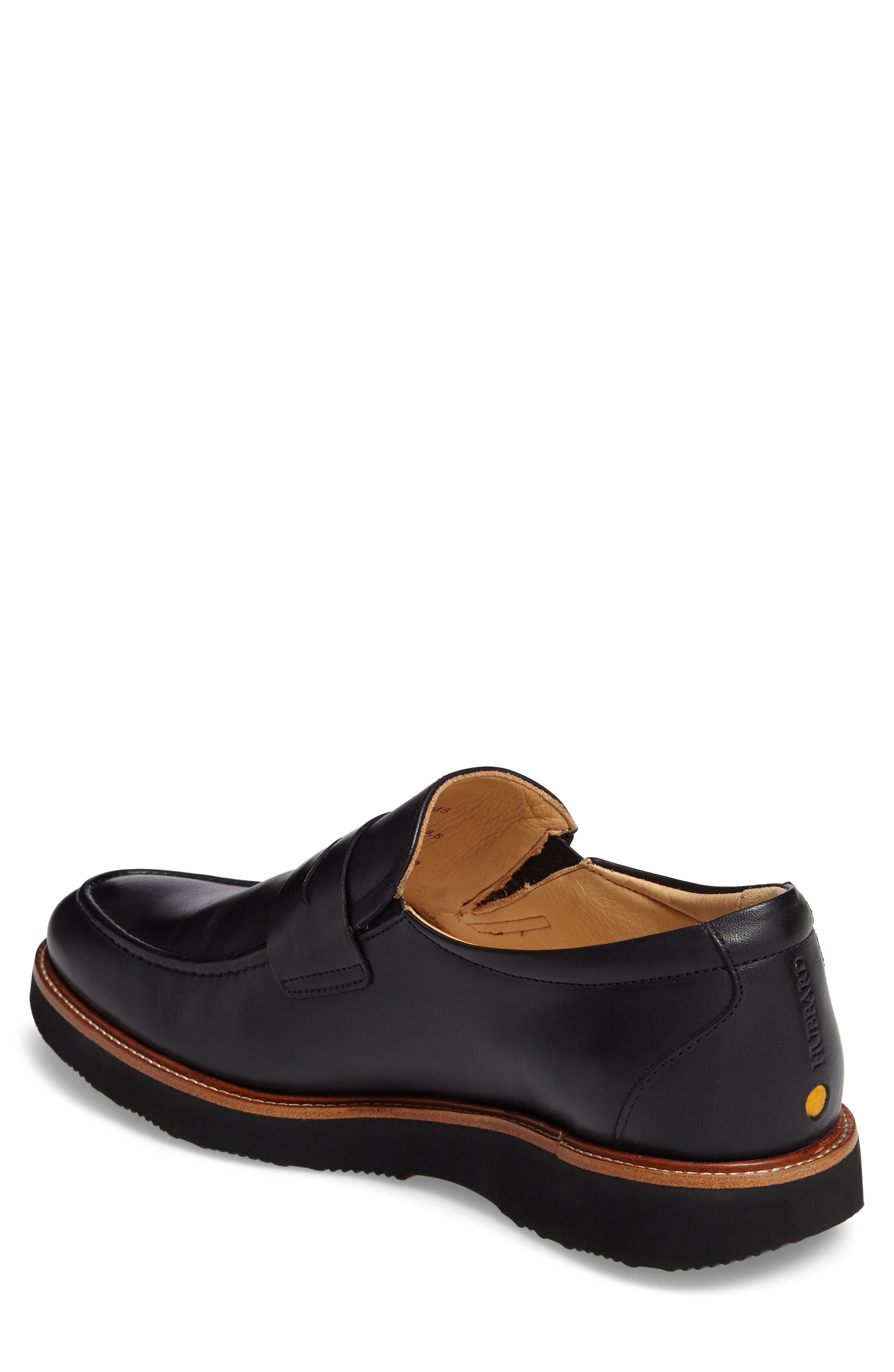 Ivy Legend Penny Loafer,                             Alternate thumbnail 2, color,                             Black Full Grain