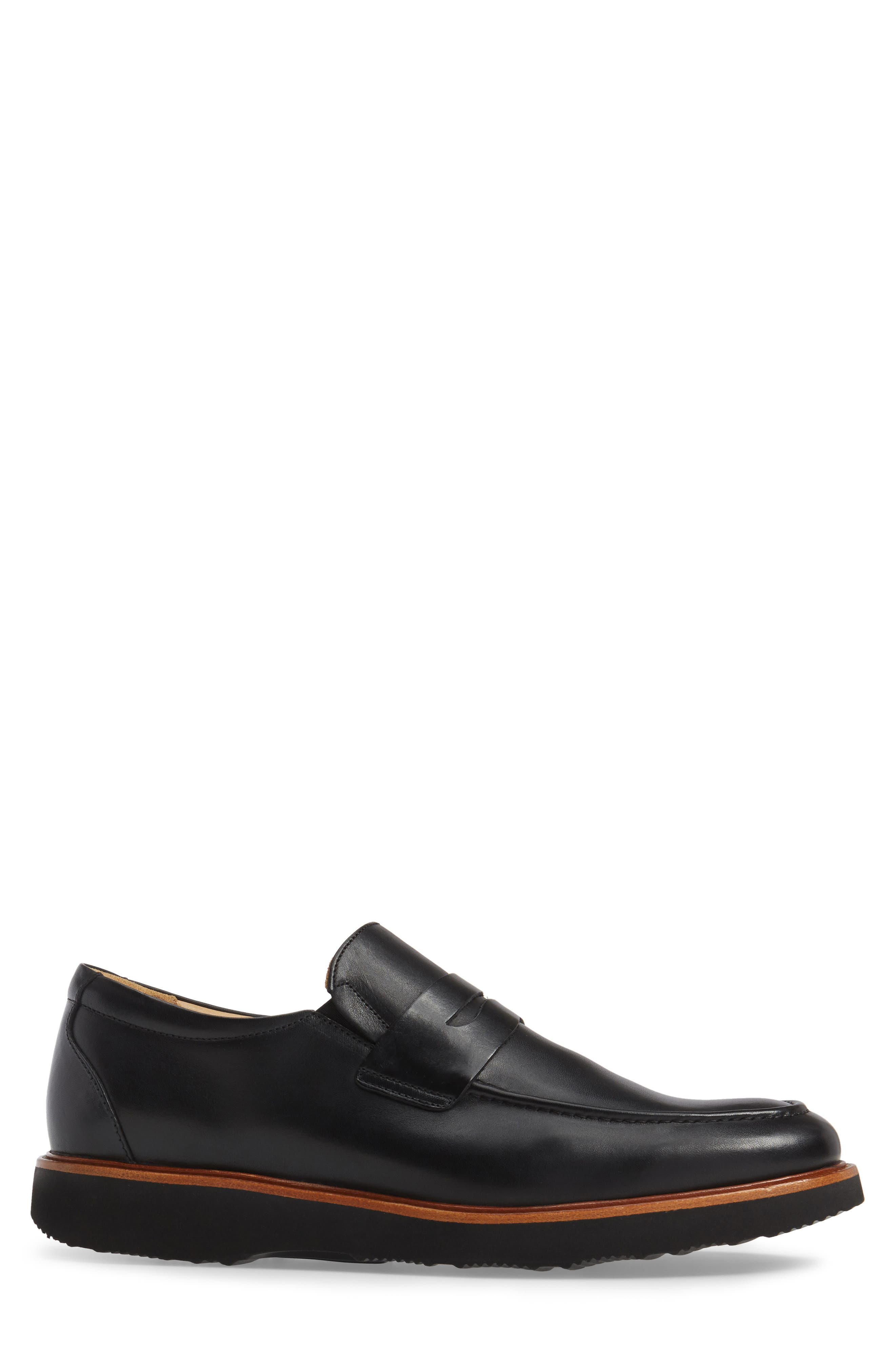 Ivy Legend Penny Loafer,                             Alternate thumbnail 3, color,                             Black Full Grain
