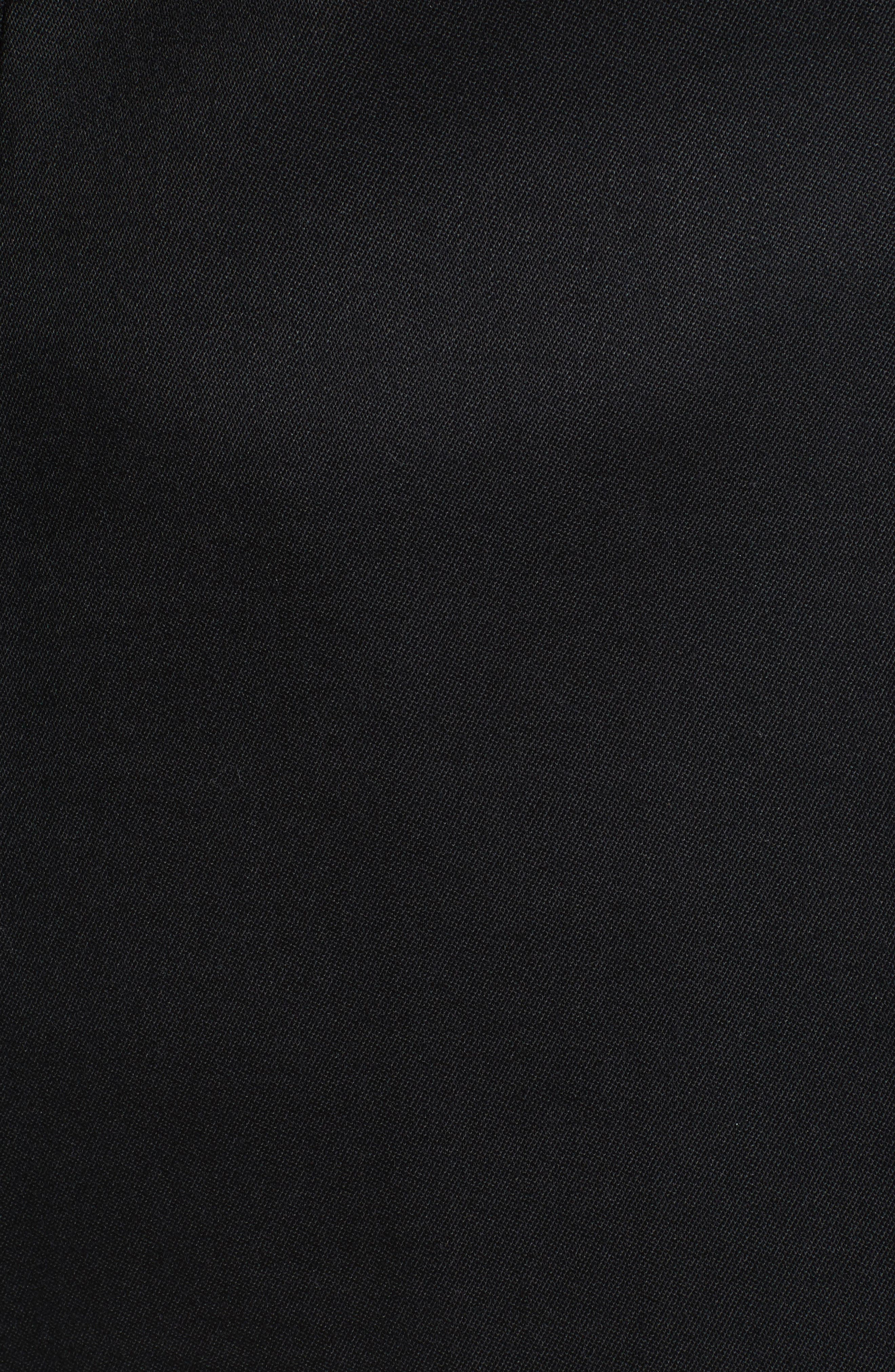 Wool Blend Tuxedo Jacket,                             Alternate thumbnail 5, color,                             Black