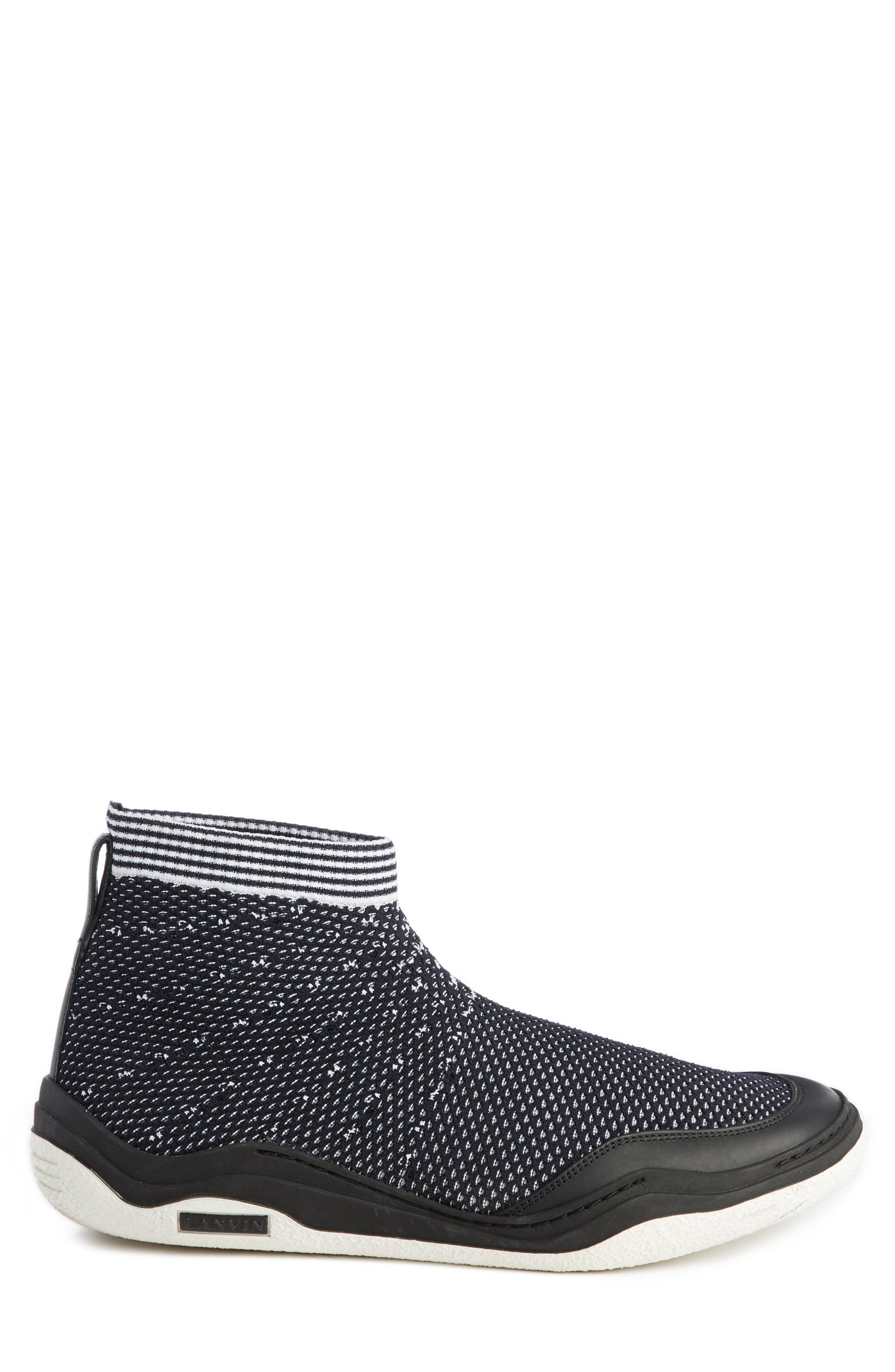 Alternate Image 4  - Lanvin Knit Sneaker (Men)