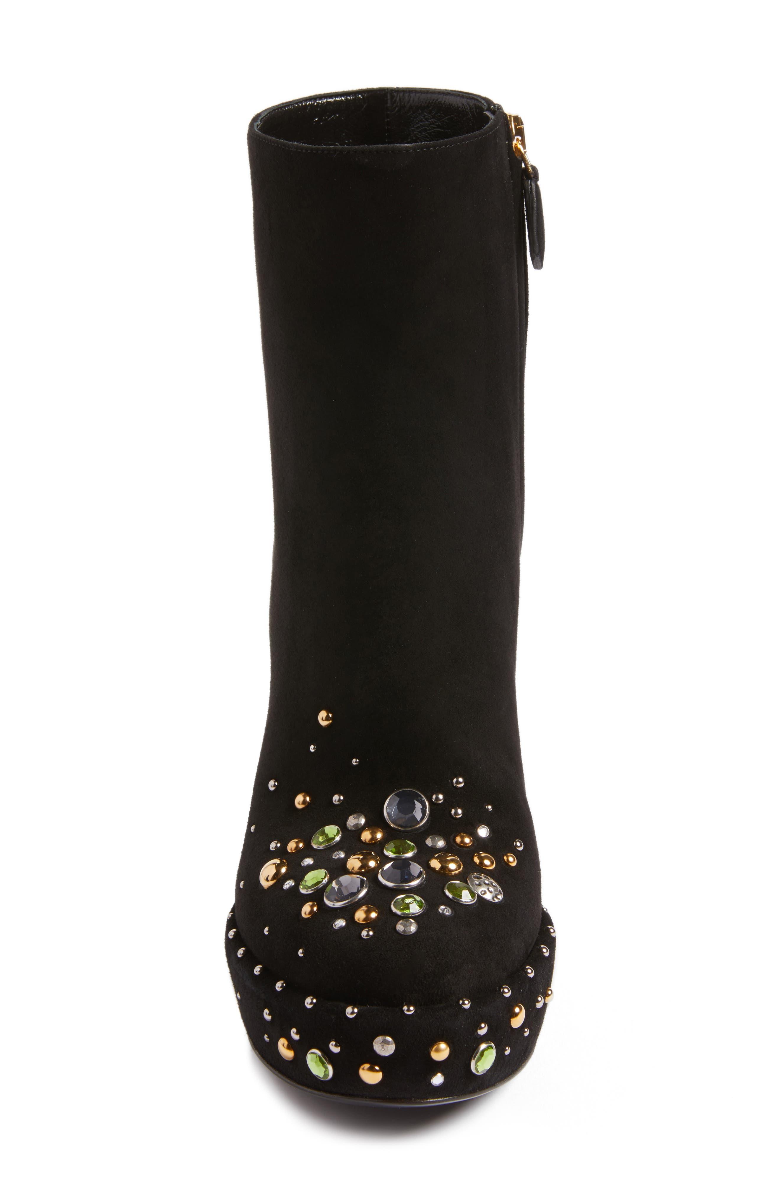 Alternate Image 4  - Prada Embellished Platform Boot (Women)