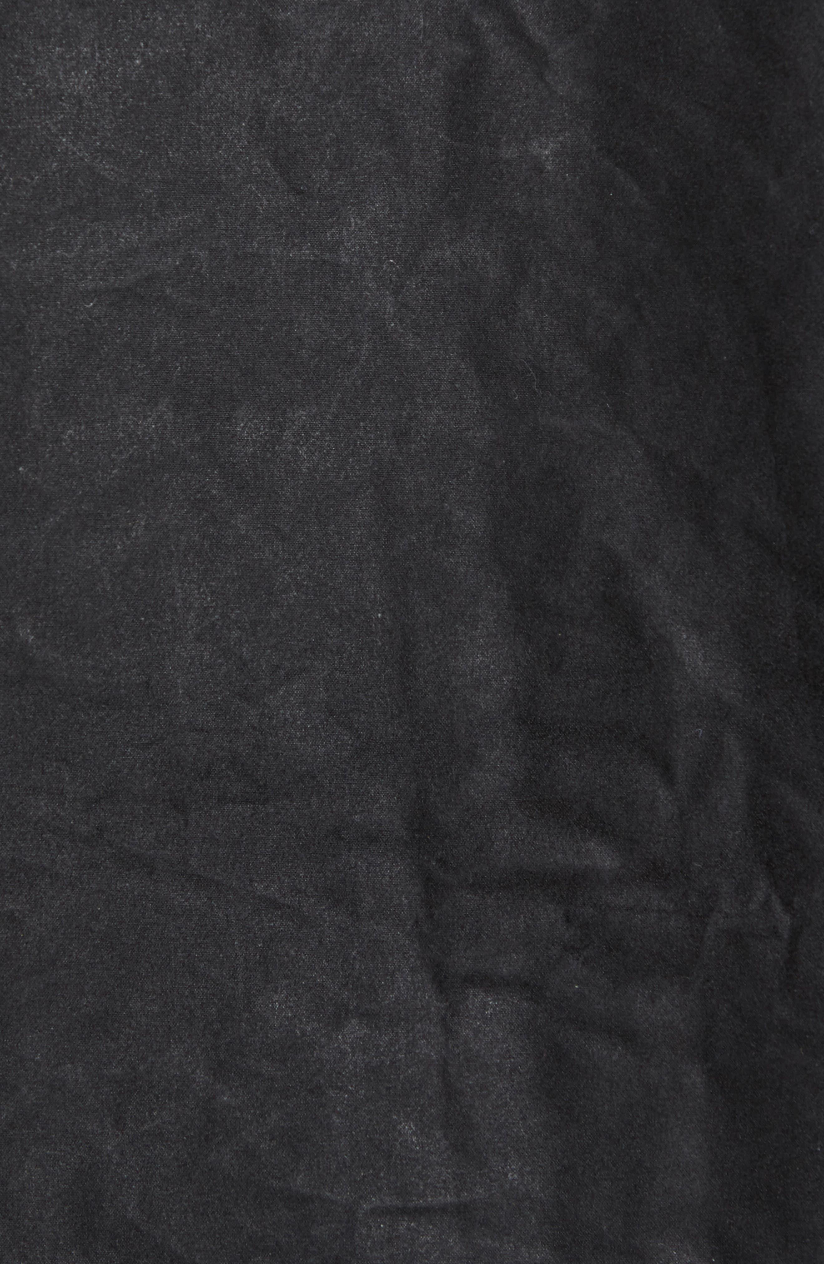 Chrome Slim Fit Water Repellent Jacket,                             Alternate thumbnail 5, color,                             Black