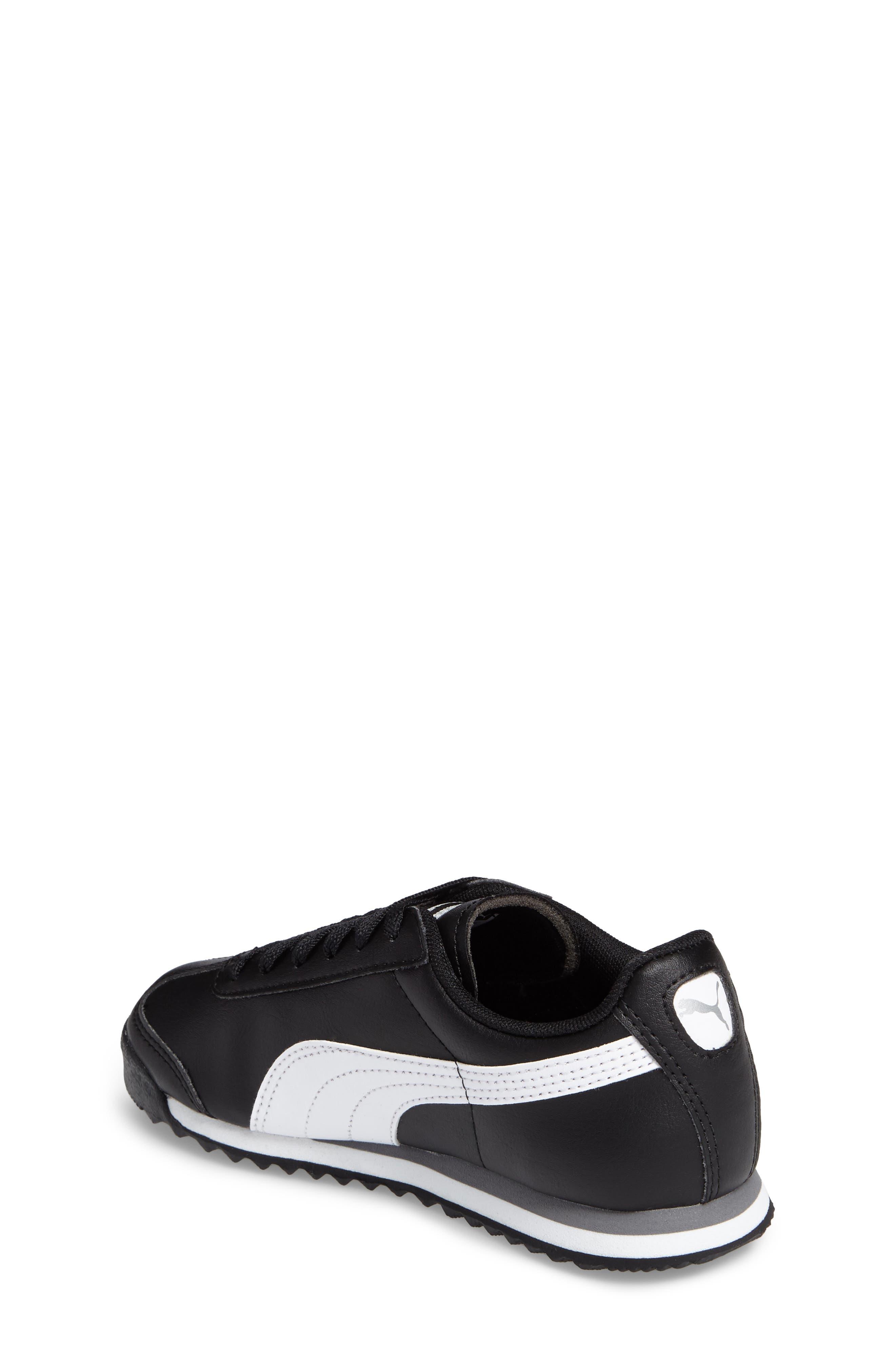 Alternate Image 2  - PUMA Roma Basic Sneaker (Toddler, Little Kid & Big Kid)