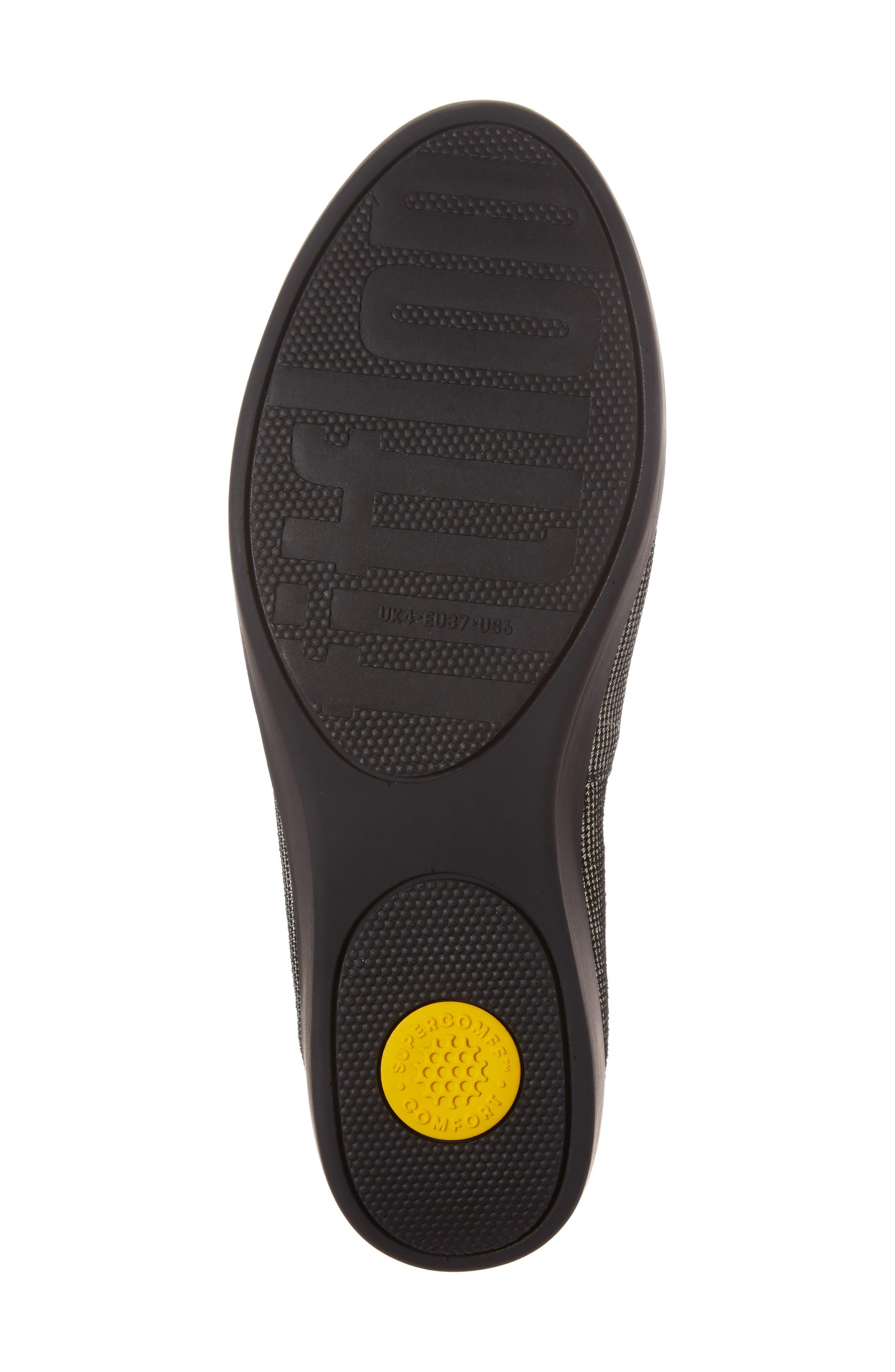 Alternate Image 6  - FitFlop Houndstooth Superskate Sneaker (Women)