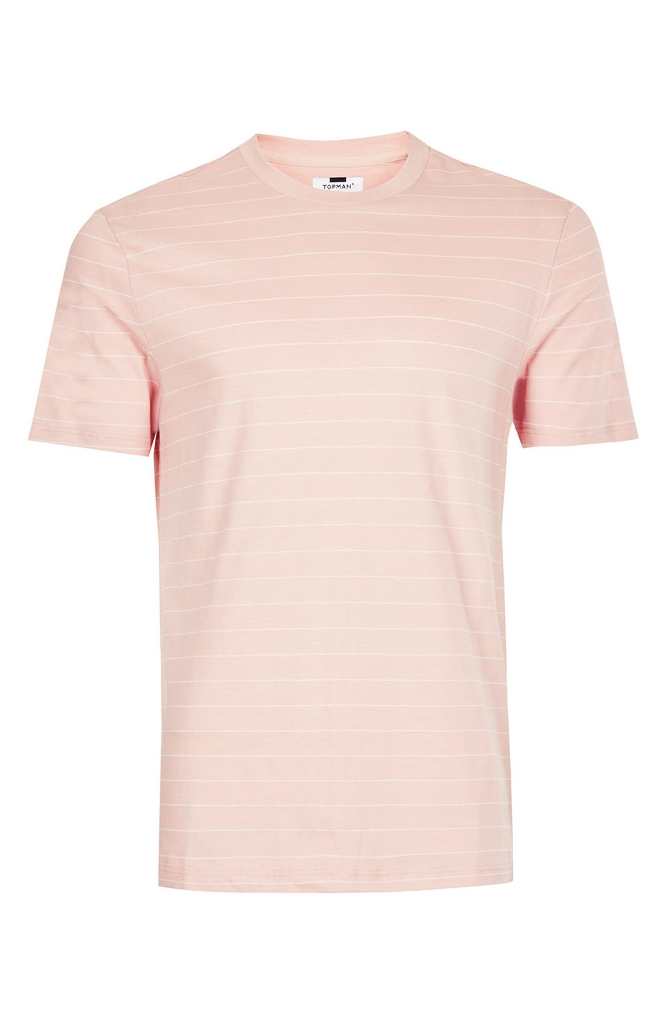 Alternate Image 5  - Topman Slim Fit Stripe T-Shirt