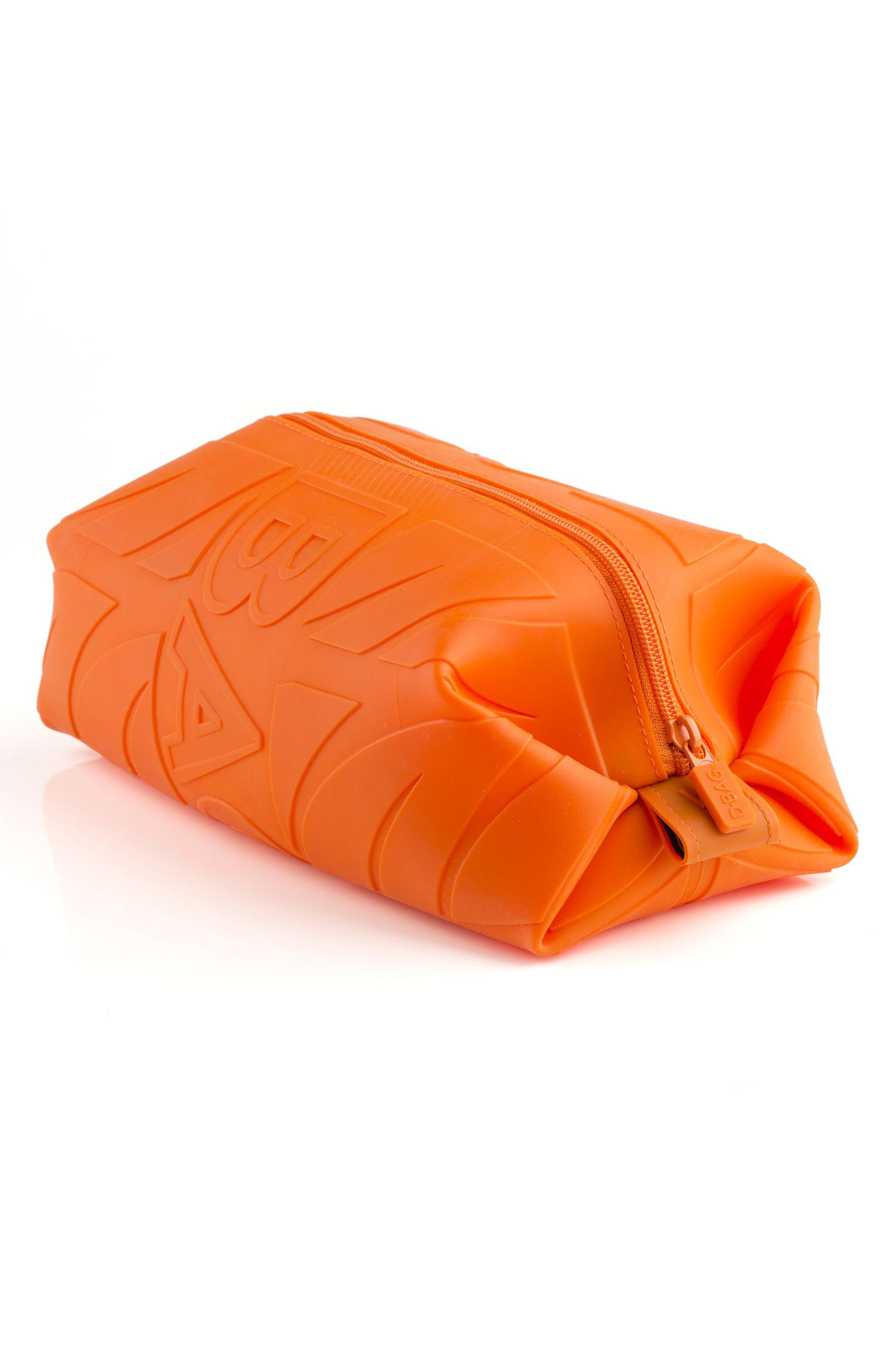 Silicone Travel Kit,                             Alternate thumbnail 3, color,                             Orange